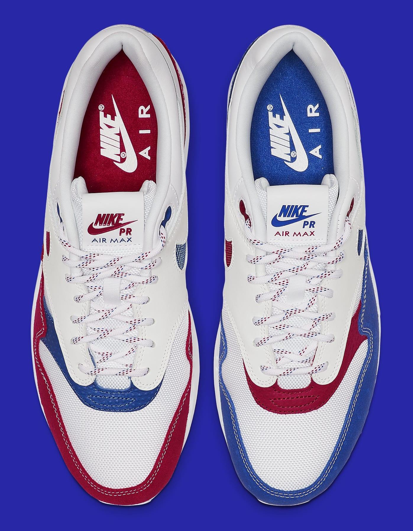 Nike Air Max 1 'Puerto Rico 2019' Top CJ1621-100
