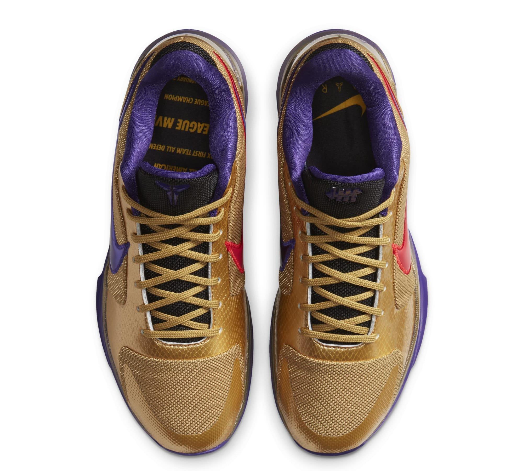 Undefeated x Nike Kobe 5 Protro 'Hall of Fame' DA6809-700 (Top)