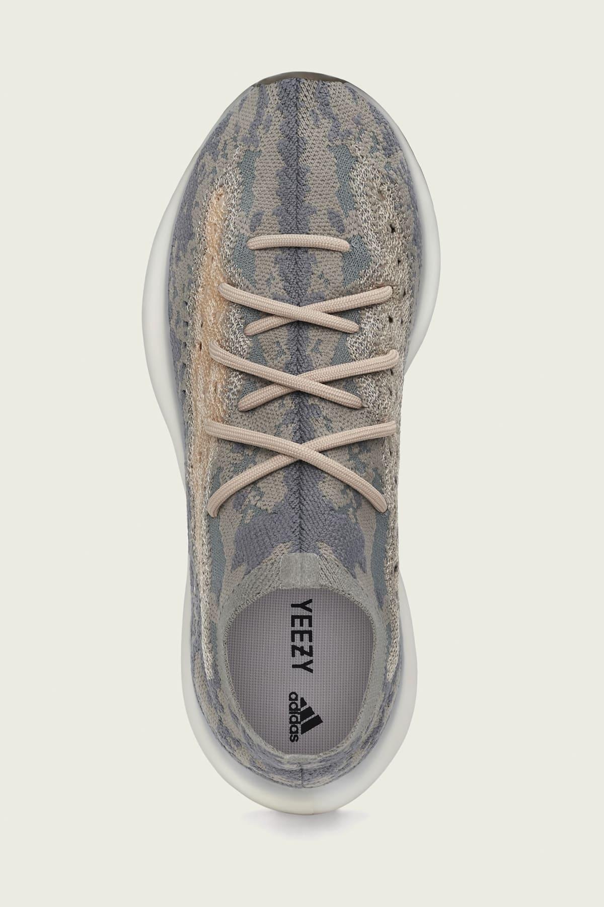 Adidas Yeezy Boost 380 'Mist' FX9764 Top