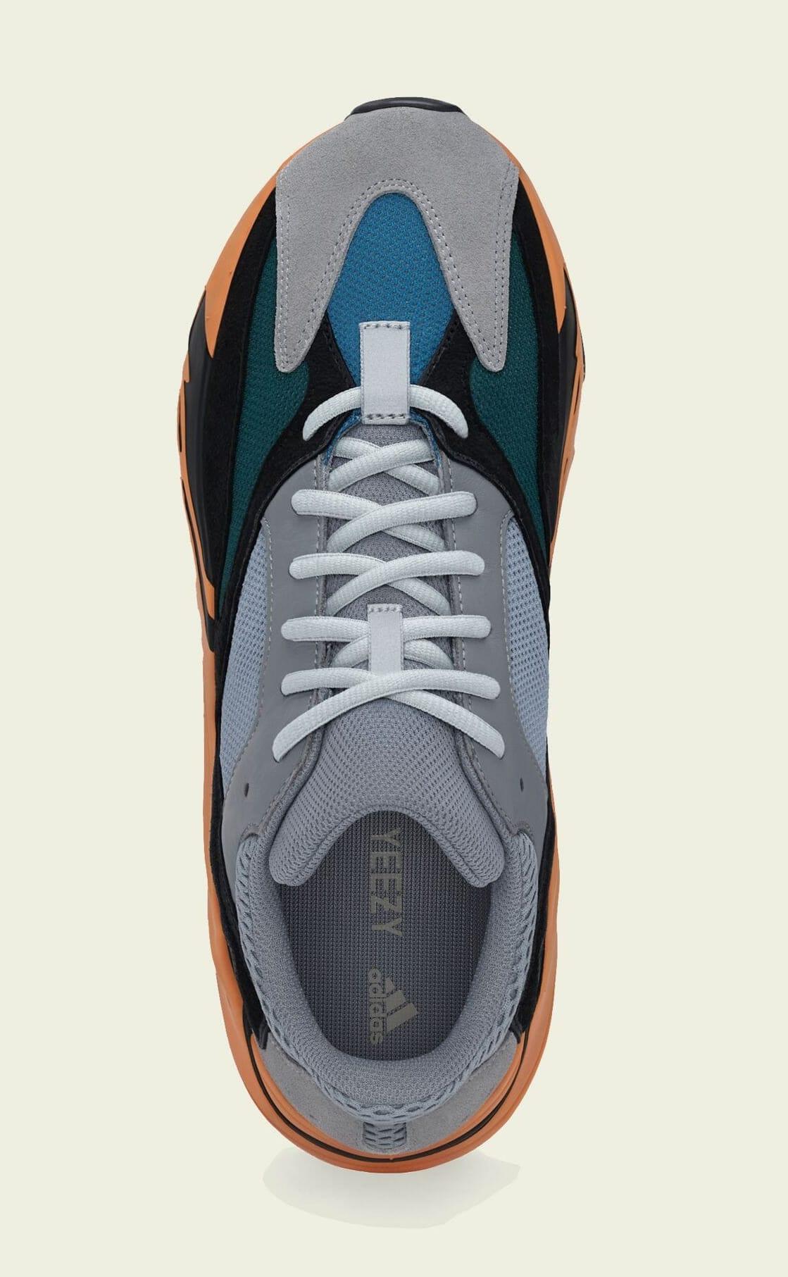 Adidas Yeezy Boost 700 'Wash Orange' GW0296 Top
