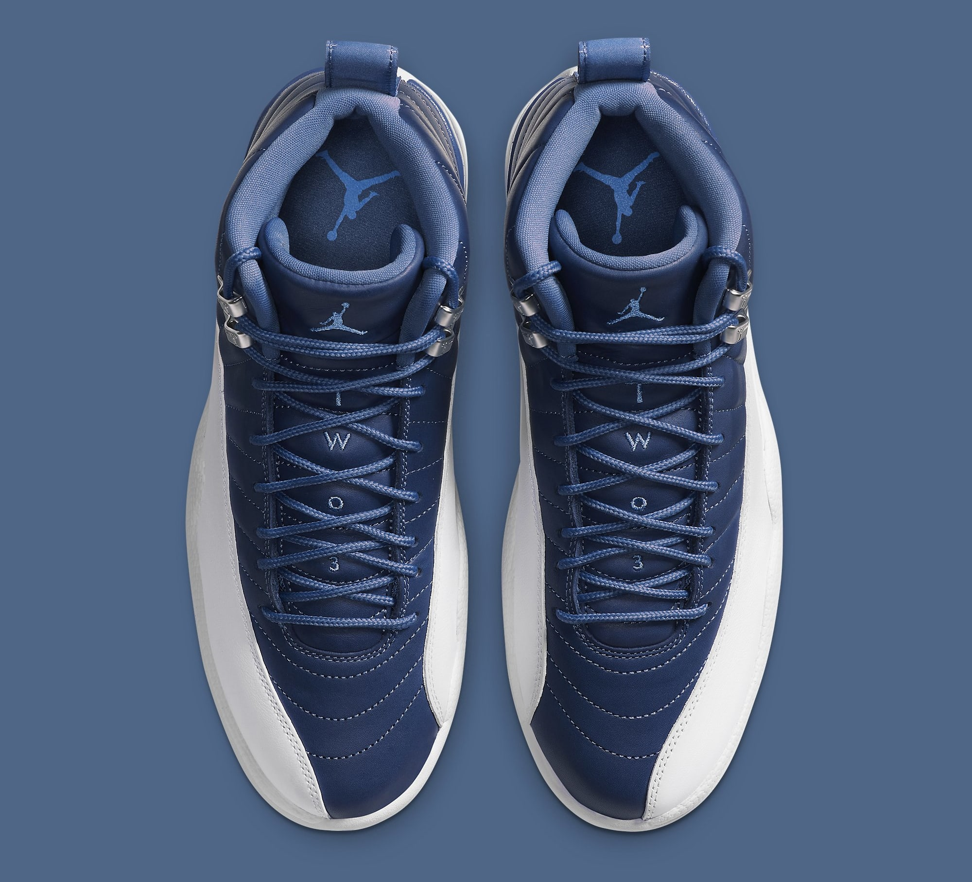 Air Jordan 12 Retro 'Indigo' 130690-404 Top