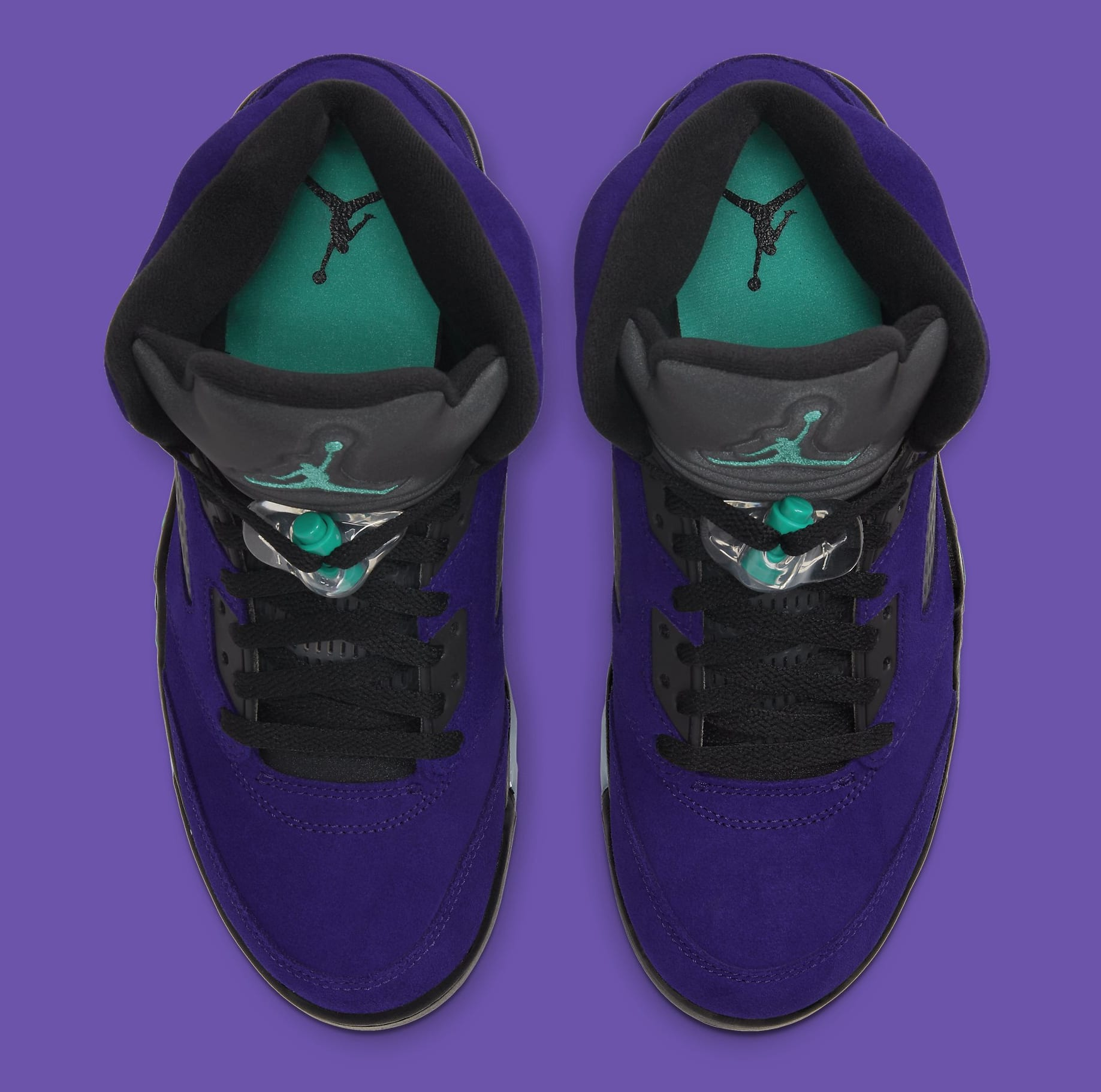 Air Jordan 5 Retro 'Alternate Grape' 136027-500 Top