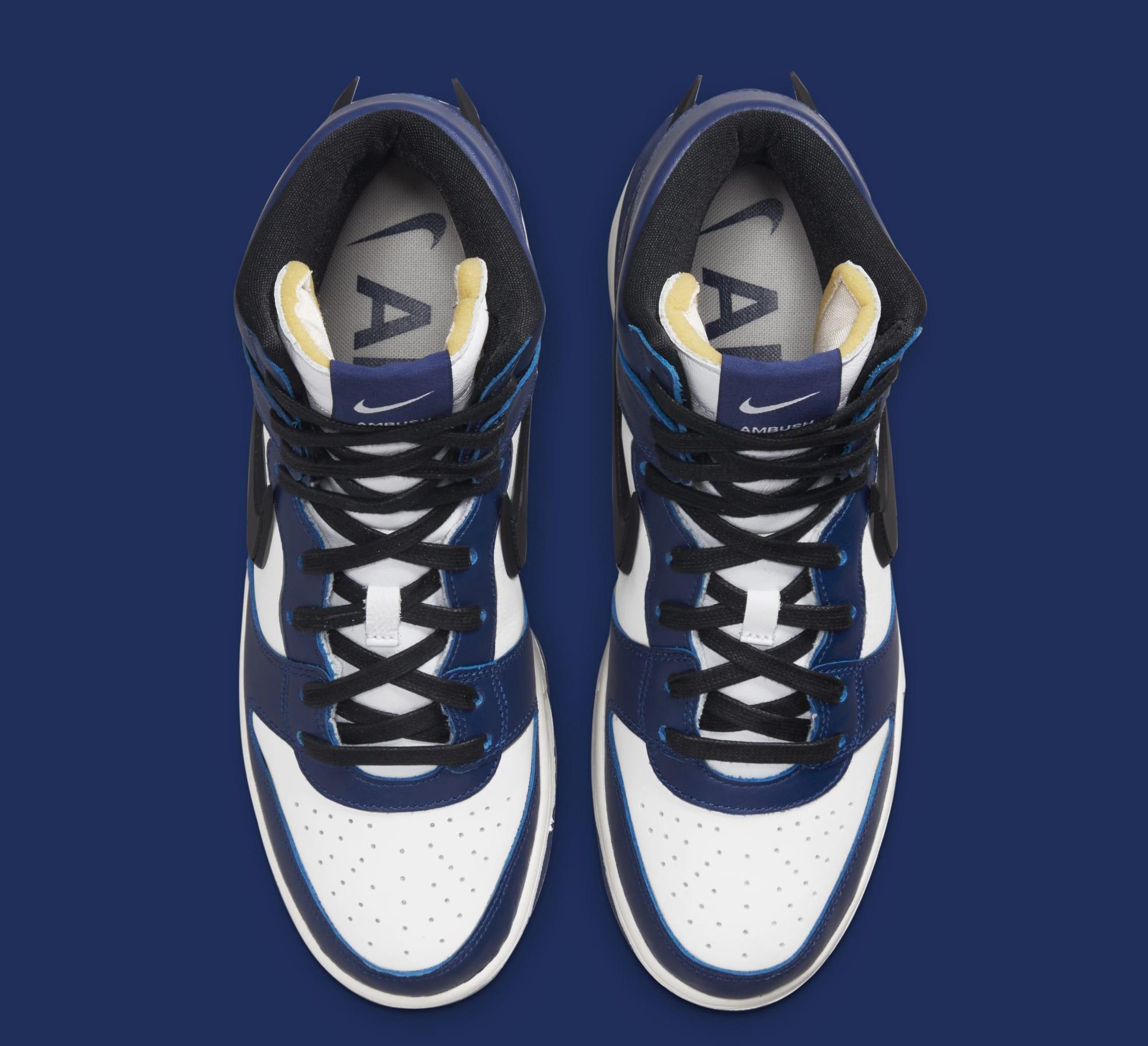 Ambush x Nike Dunk High 'Deep Royal Blue' CU7544-400 (Top)