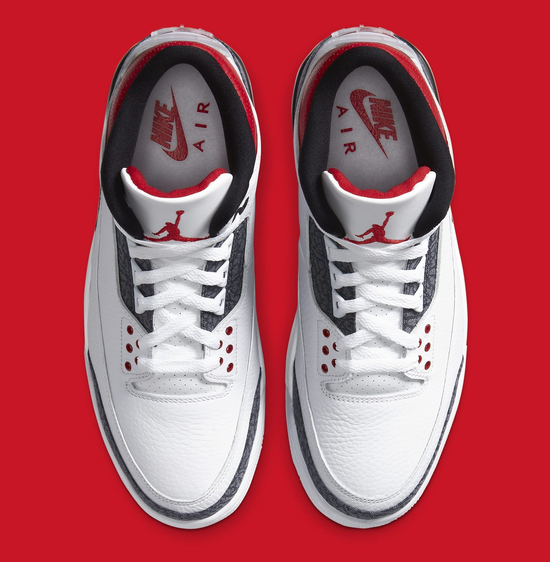 Air Jordan 3 Retro Denim CZ6431-100 Top