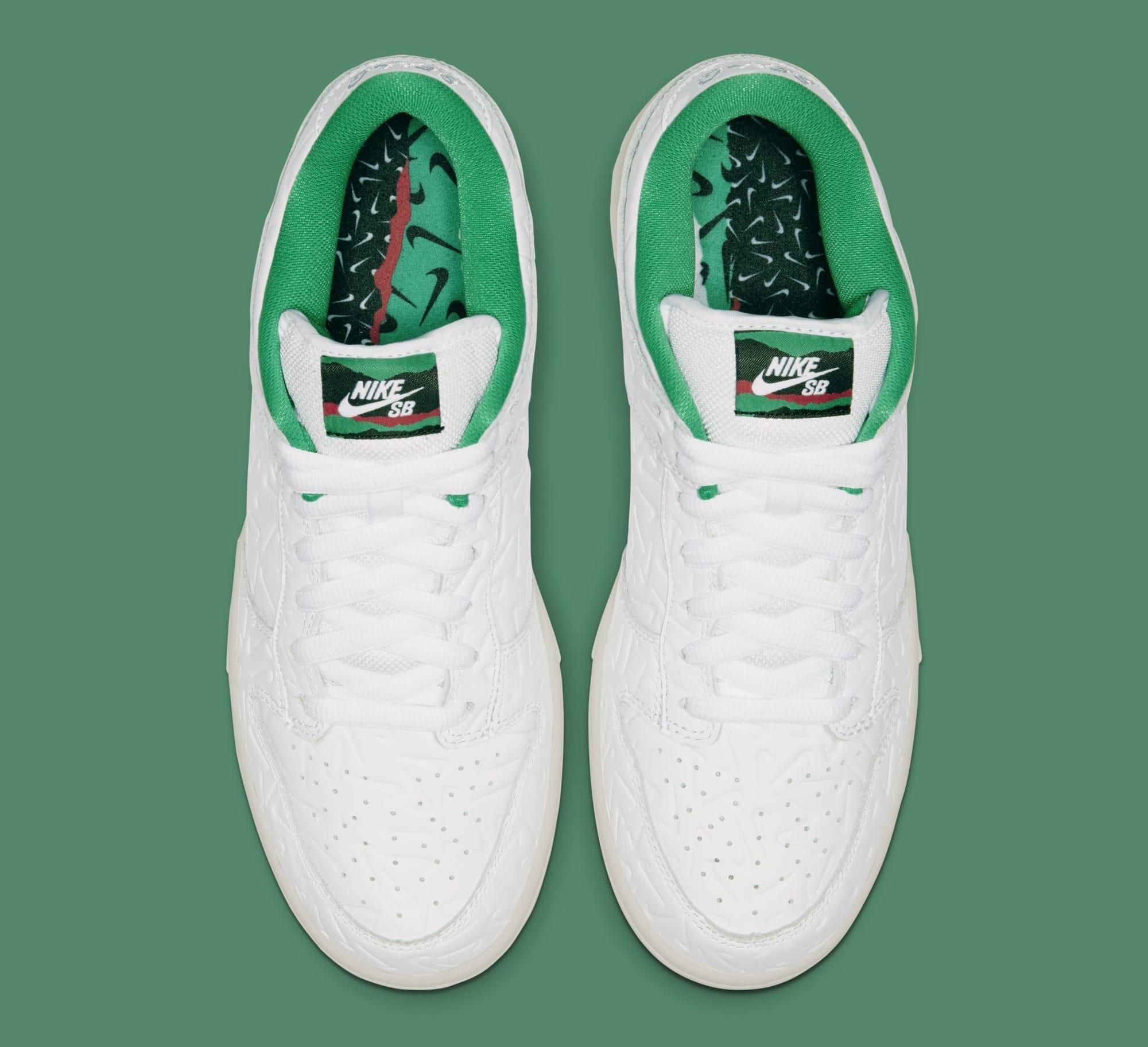 Ben-G x Nike SB Dunk Low CU3846-100 (Top)