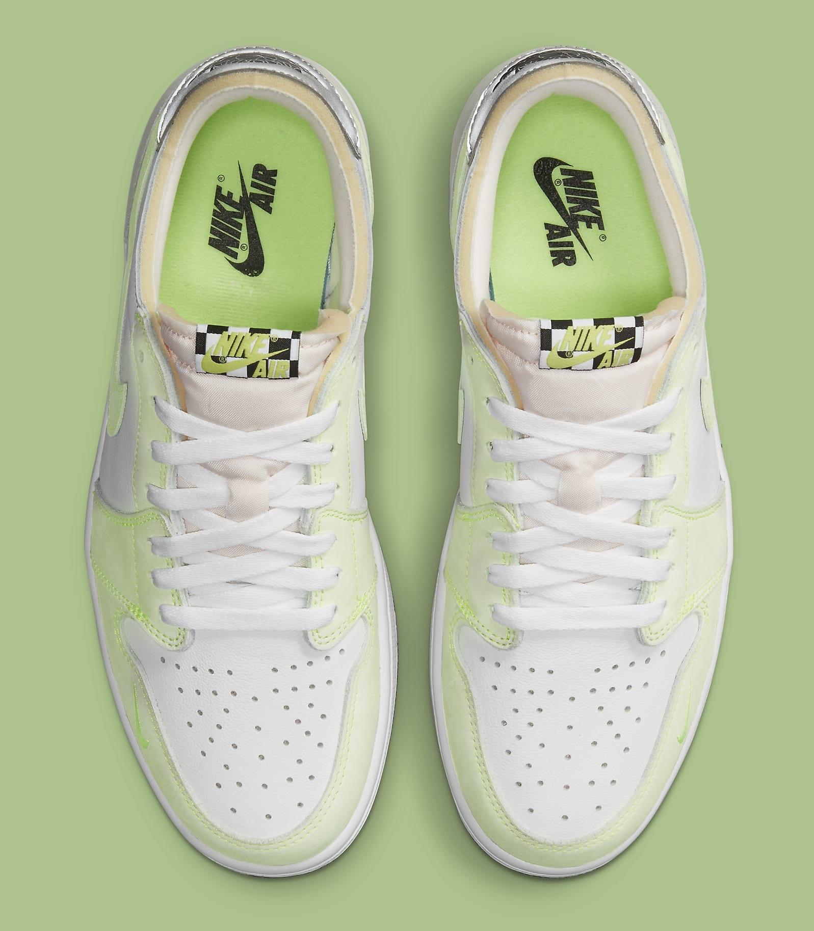 Air Jordan 1 Low OG 'Ghost Green' DM7837-103 Top