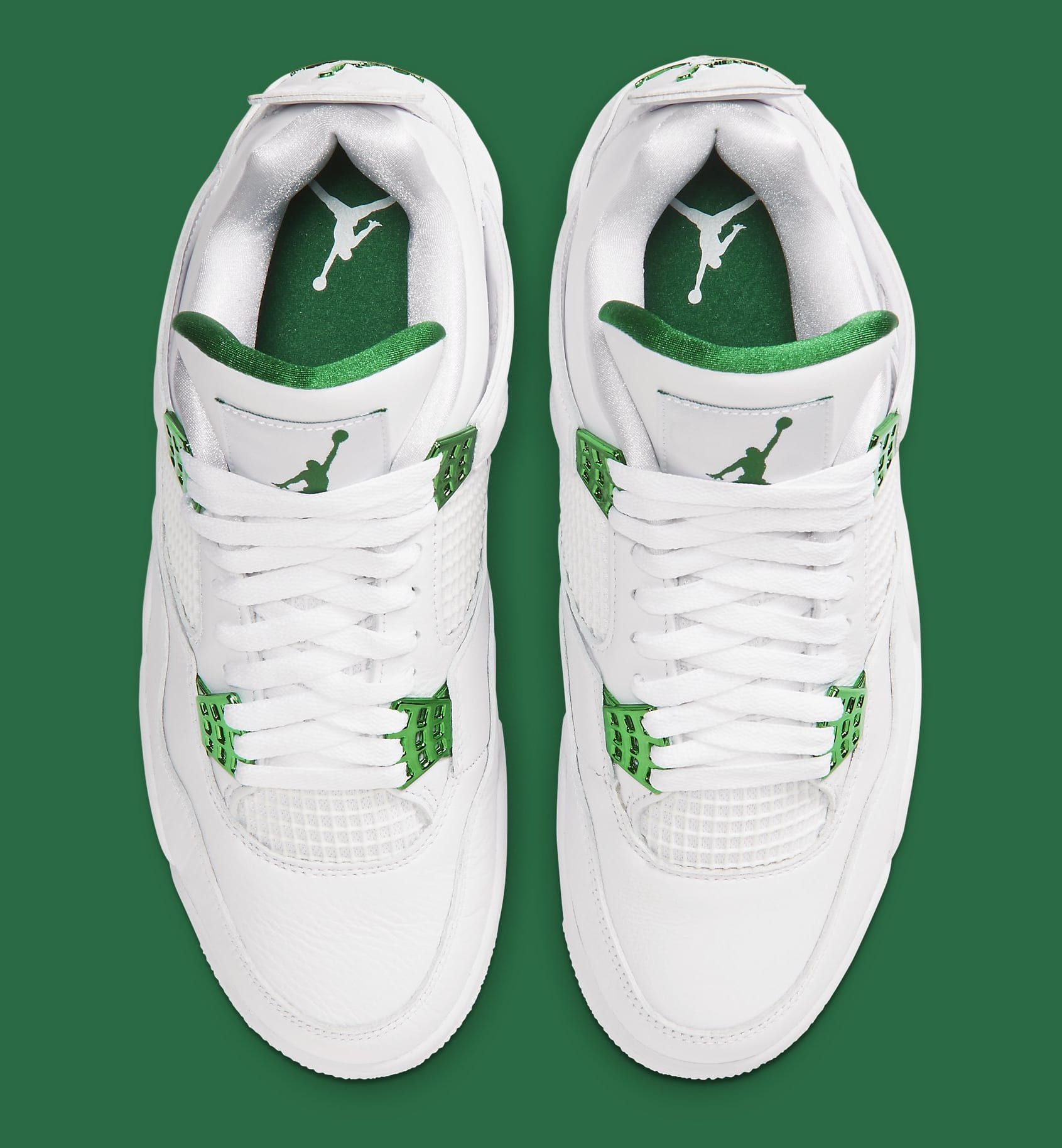 Air Jordan 4 Retro 'Green Metallic' CT8527-113 Top