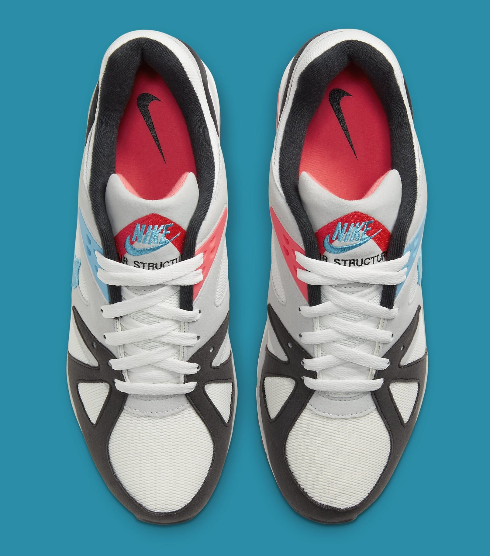 Nike Air Structure Triax 91 'Neo Teal/Infrared' CV3492-100 Top