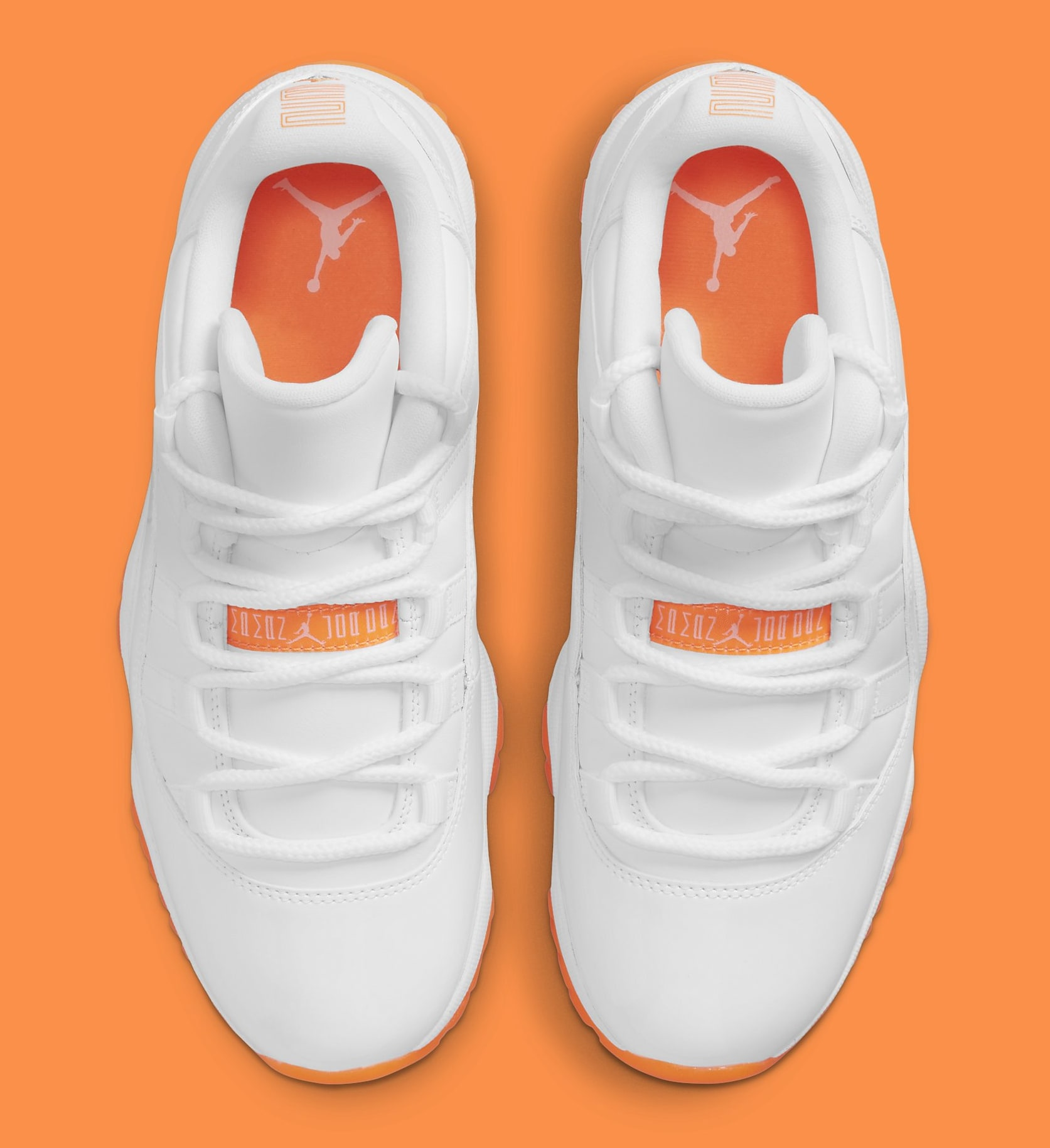 Air Jordan 11 Retro Low Women's 'Citrus' AH7860-139 Top