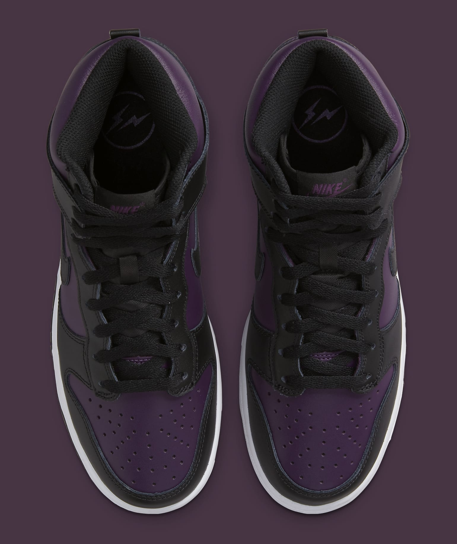 Fragment Design x Nike Dunk High 'Black' DJ0382-600 Top