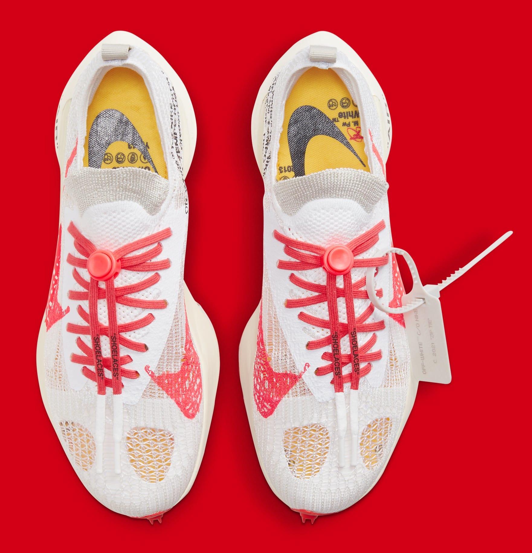 Off-White x Nike Air Zoom Tempo Next% CV0697-100 Top