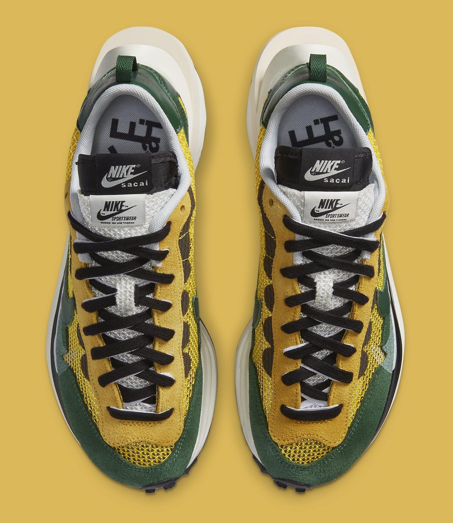 Sacai x Nike VaporWaffle 'Tour Yellow' CV1363-700 Top