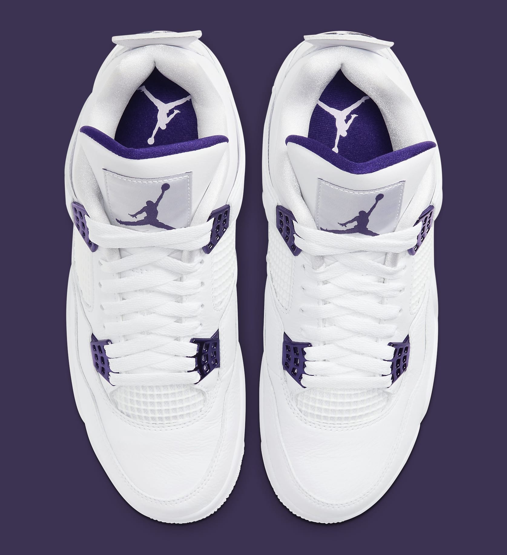 Air Jordan 4 Retro 'Metallic Purple' CT8527-115 Top