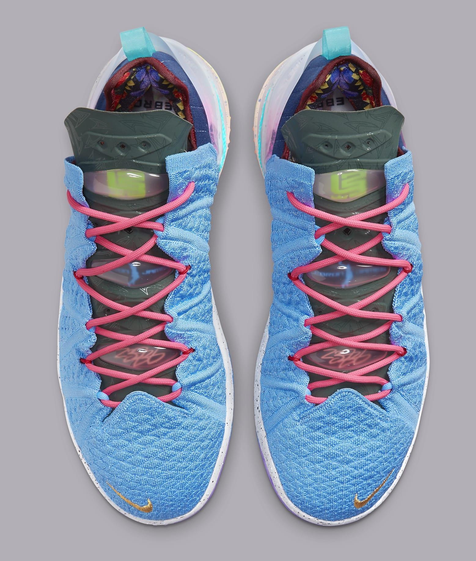 Nike LeBron 18 'Best 1-9' DM2813 400 Top