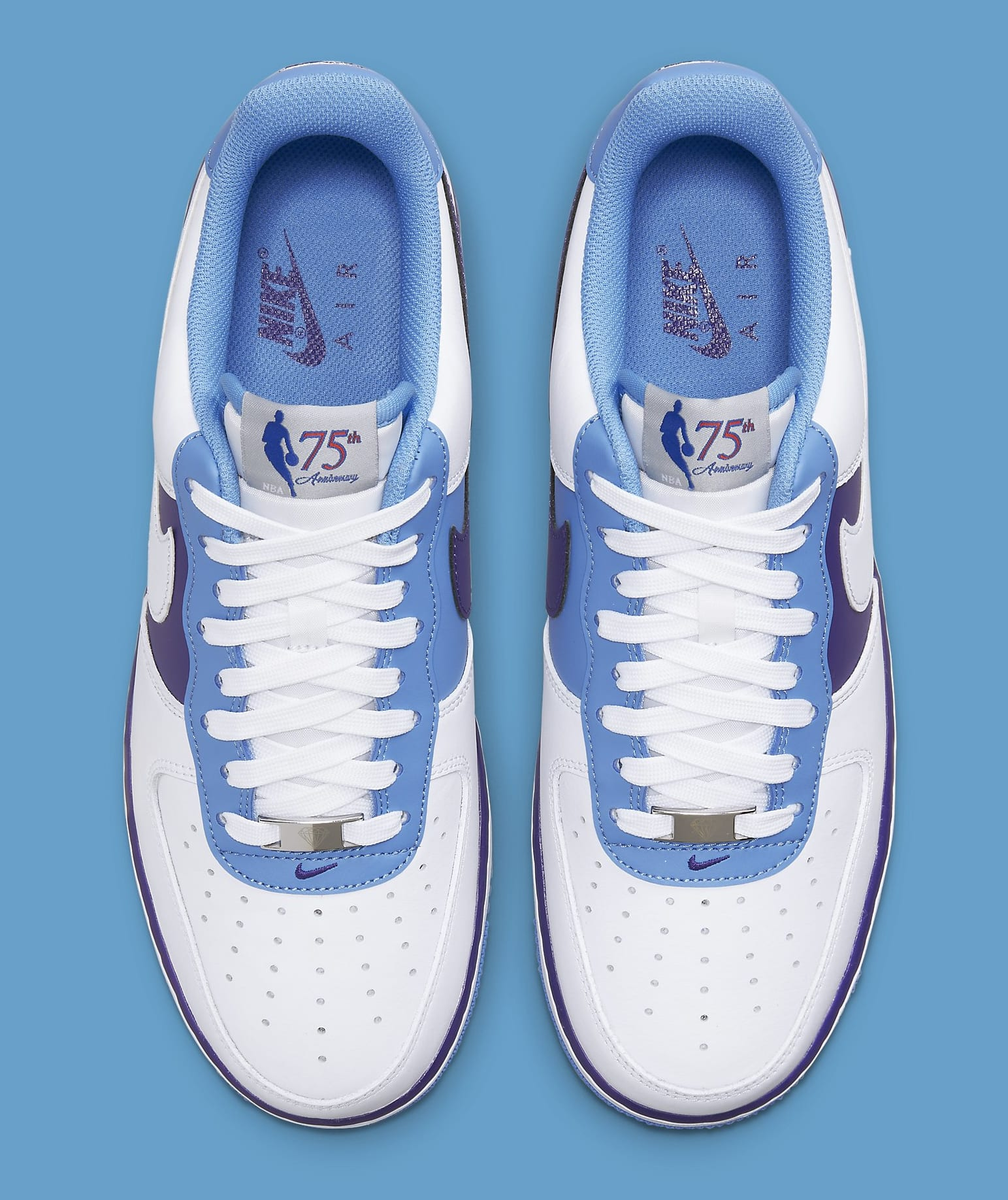 Nike Air Force 1 Low 'Lakers' NBA 75th Anniversary DC8874-101 Top