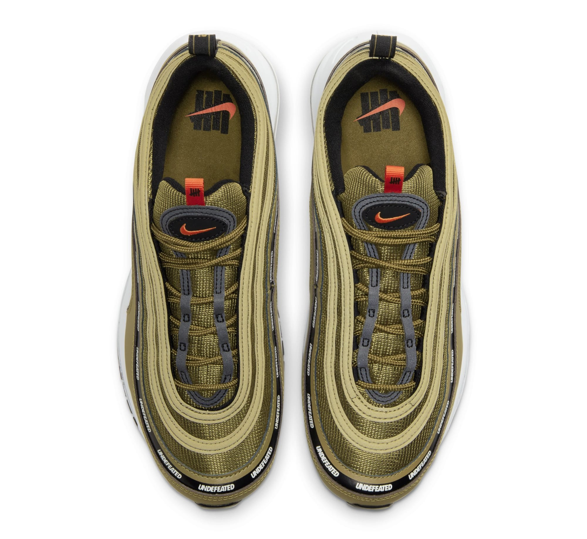 Undefeated x Nike Air Max 97 'Militia Green' DC4830-300 (Top)