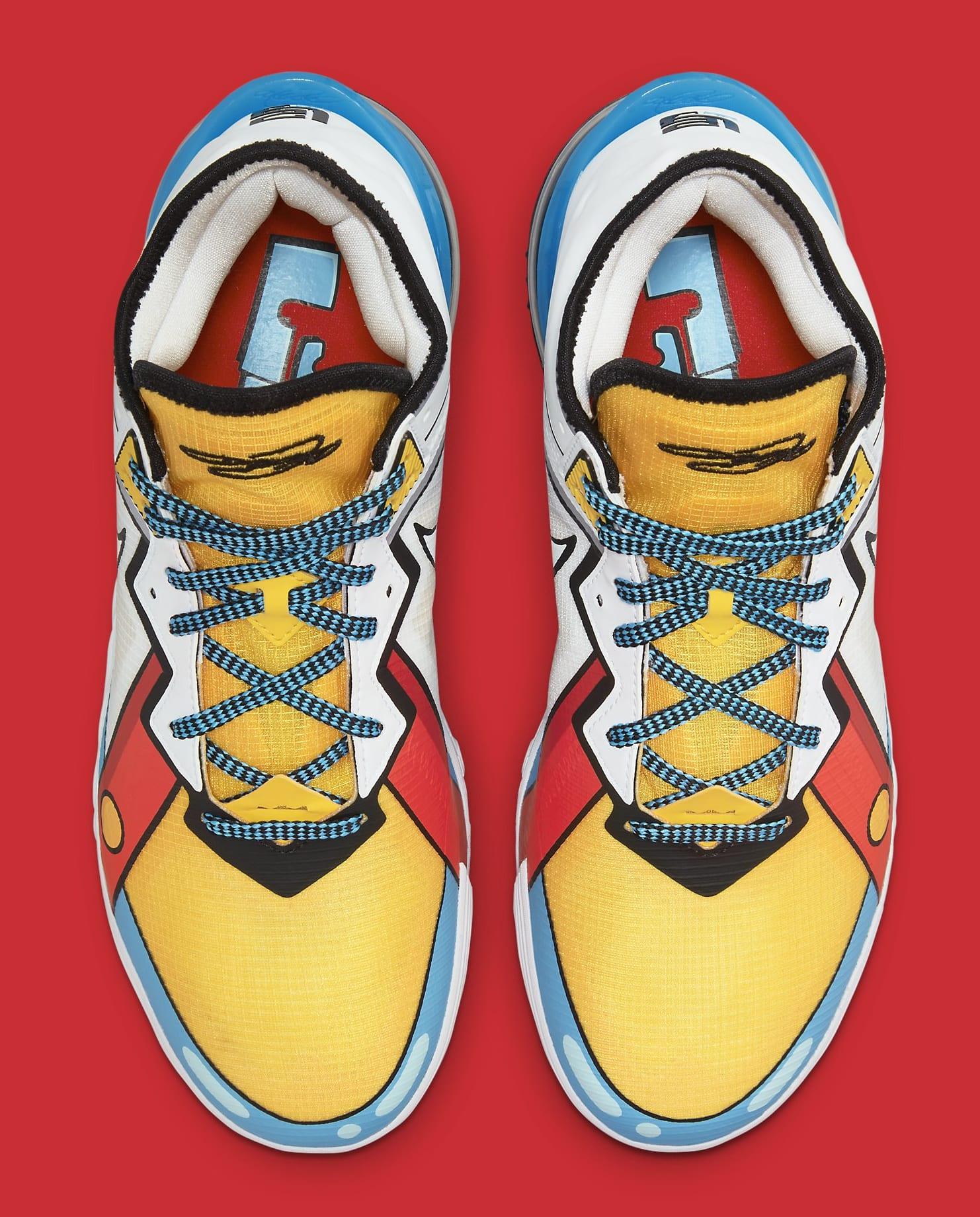 Nike LeBron 18 Low 'Stewie Griffin' CV7564-104 Top