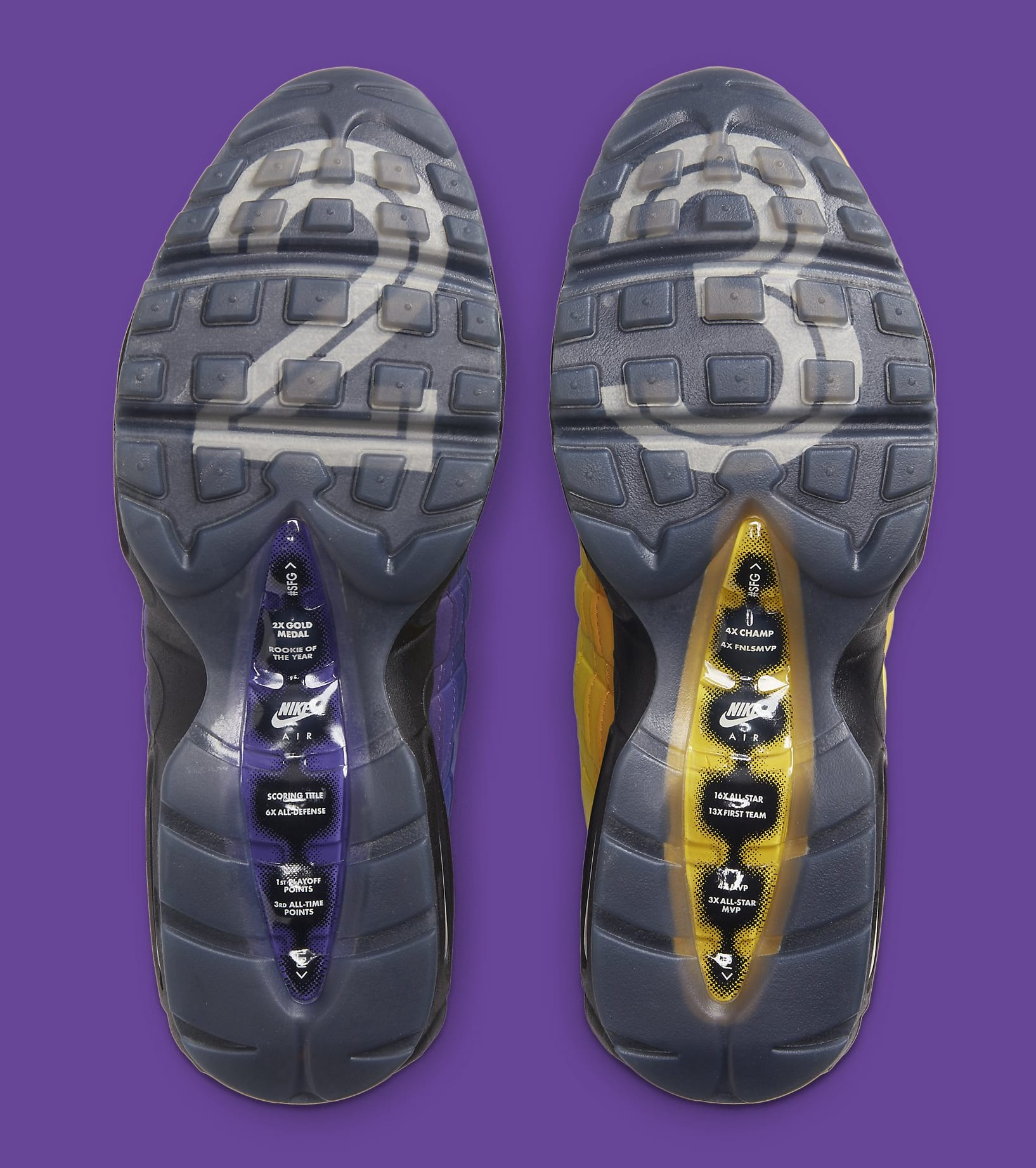 Nike Air Max 95 'LeBron' CZ3624-001 Outsole