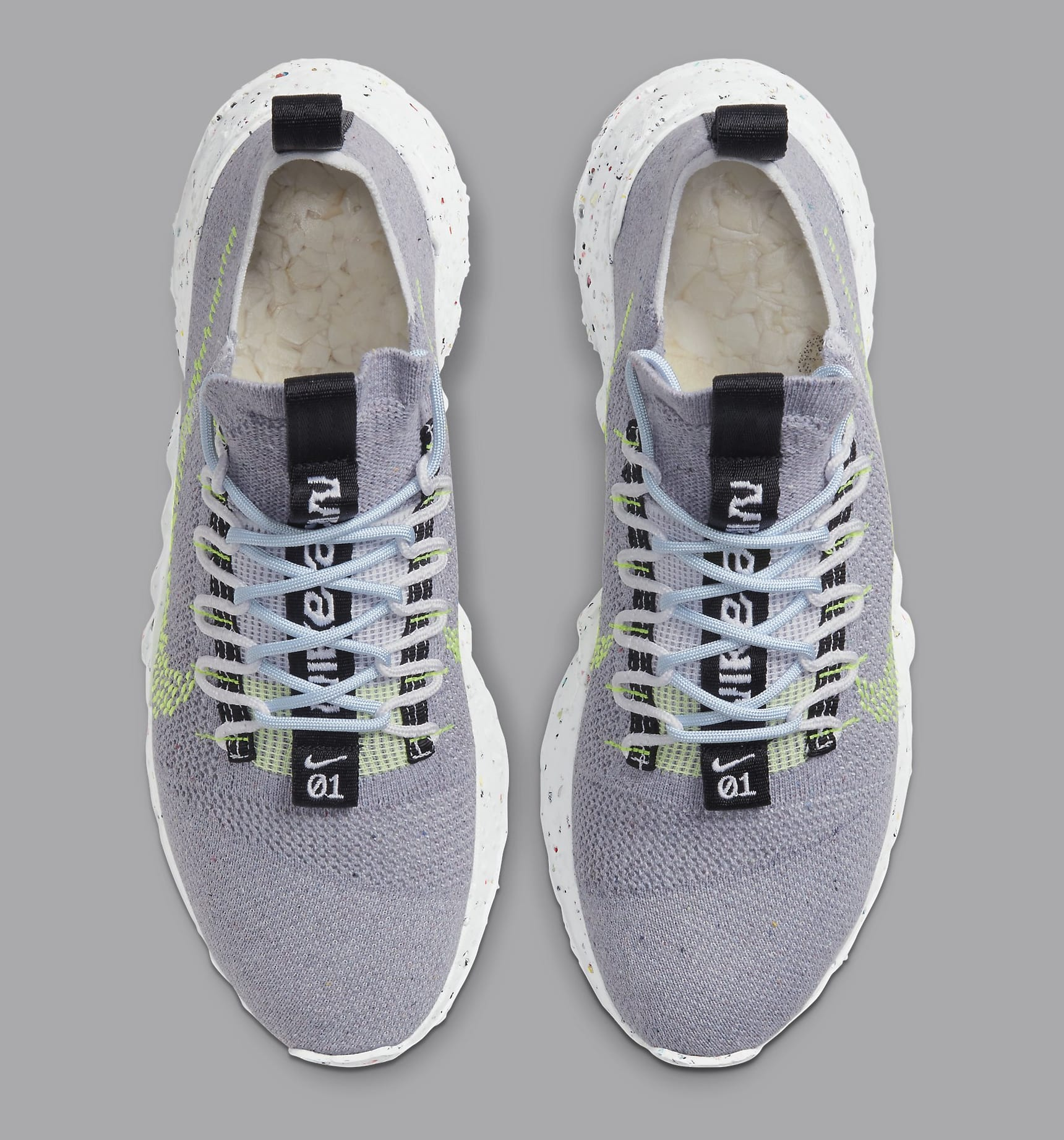 Nike Space Hippie 01 'Grey/Volt' CQ3986-002 Top