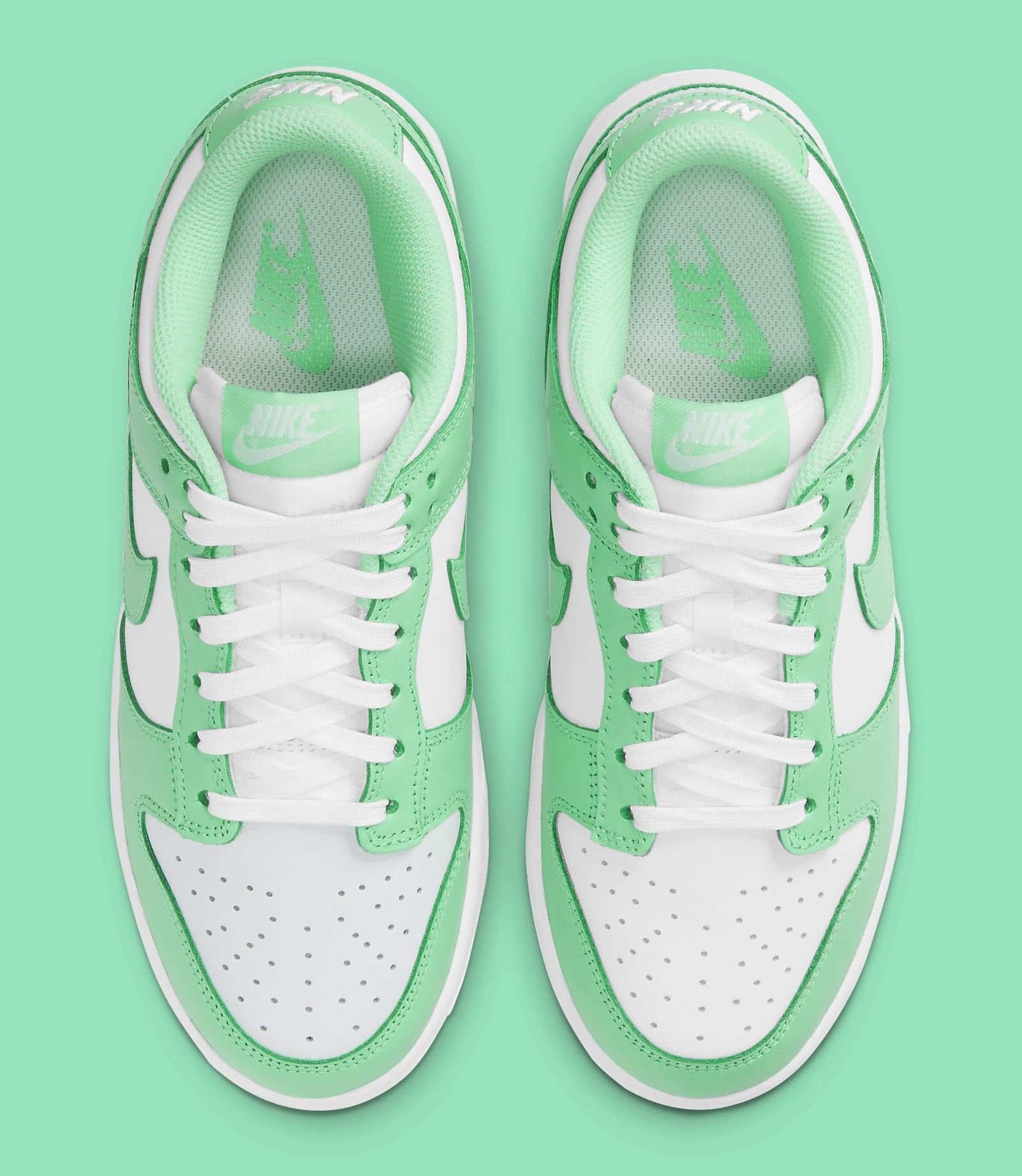 Nike Dunk Low Women's 'Green Glow' DD1503-105 Top