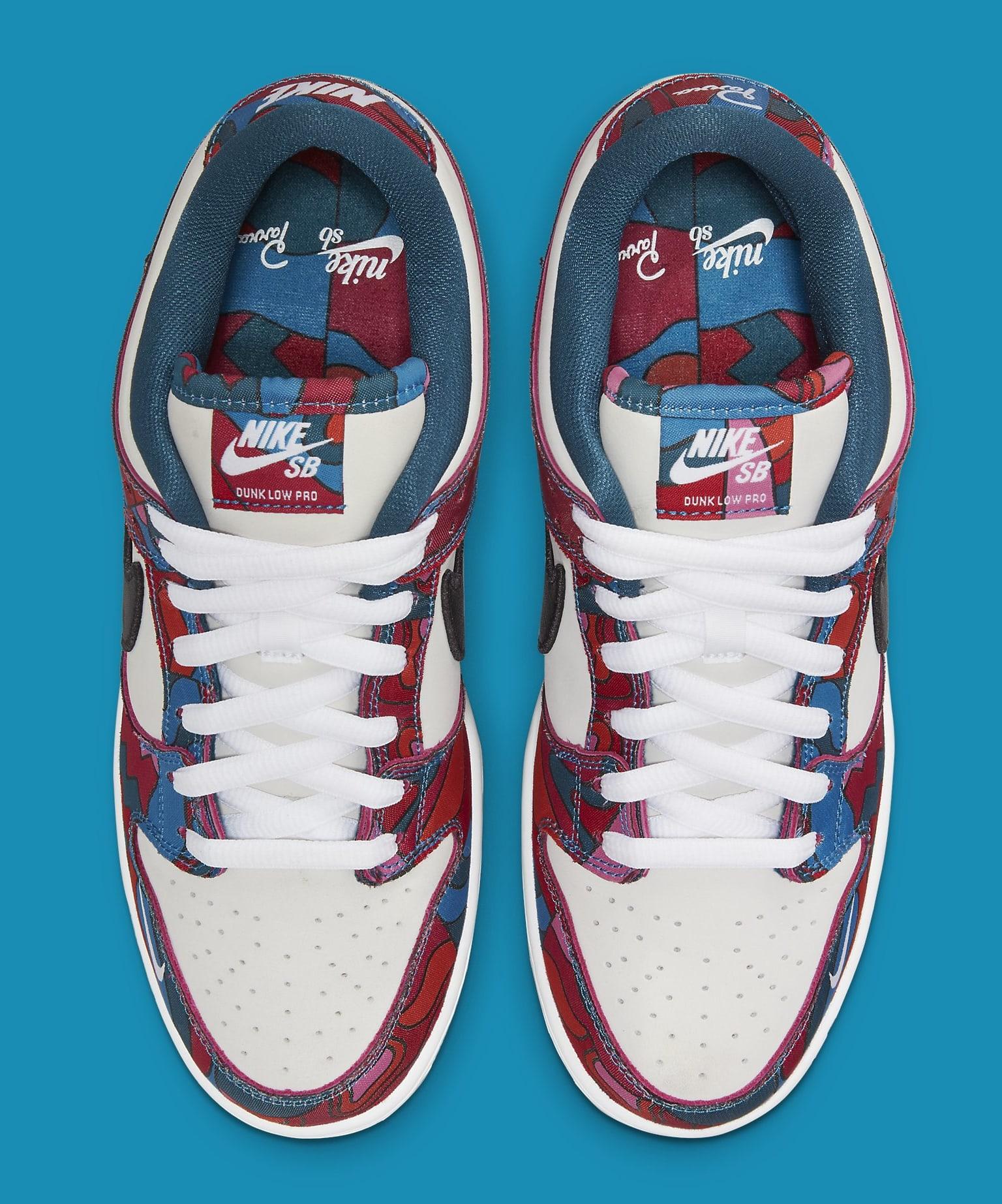 Parra x Nike SB Dunk Low DH7695-600 Top