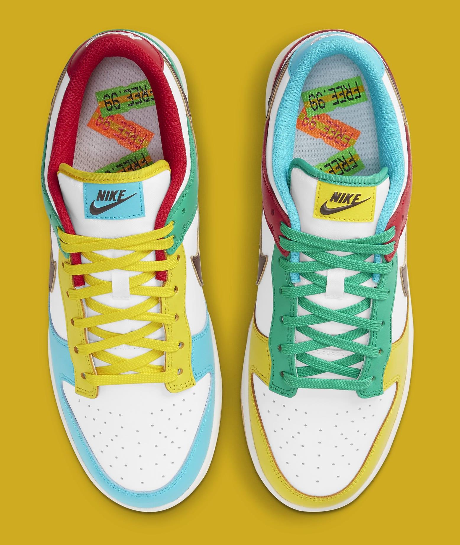 Nike Dunk Low 'Free.99 White' DH0952-100 Top
