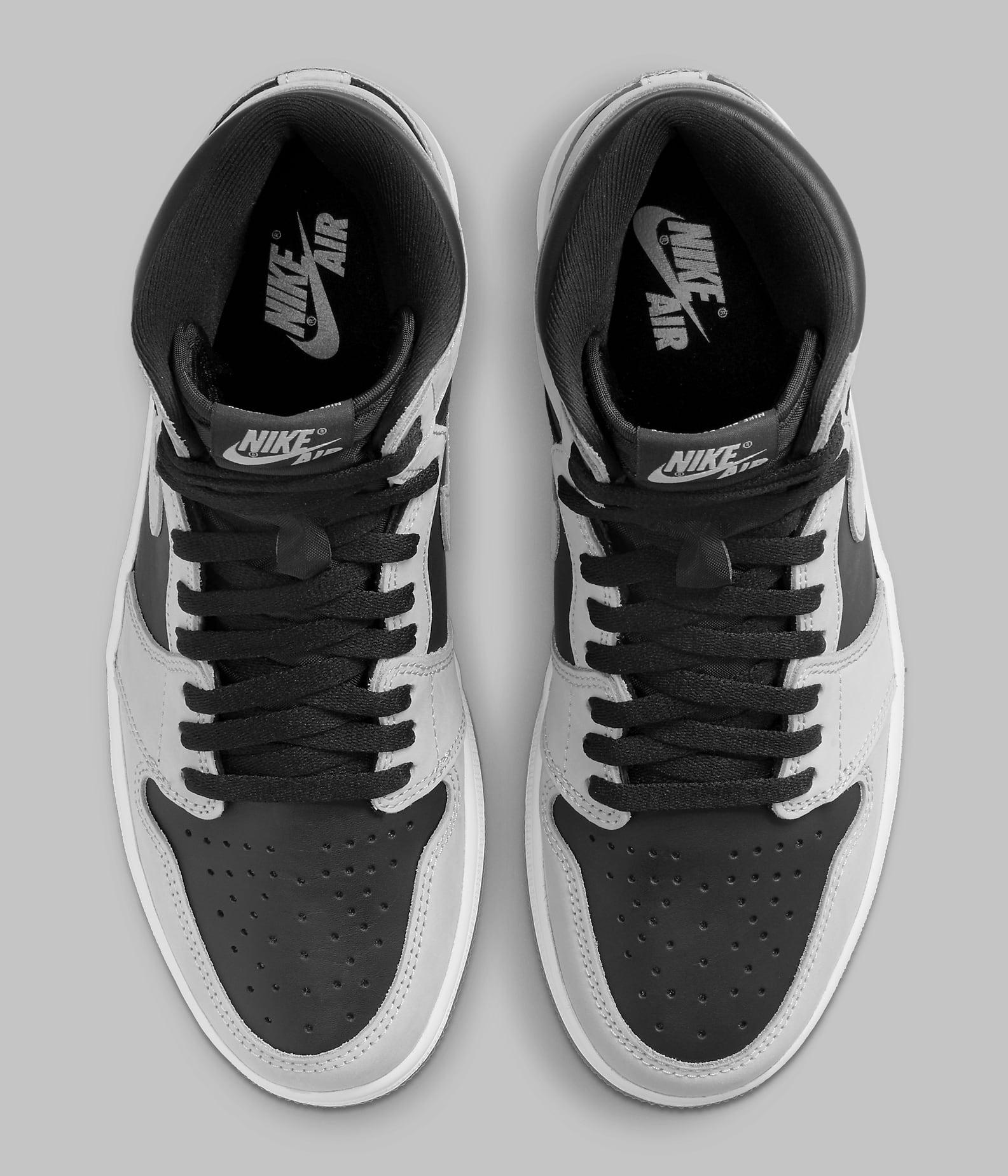 Air Jordan 1 Retro High OG 'Shadow 2.0' 555088-035 Top
