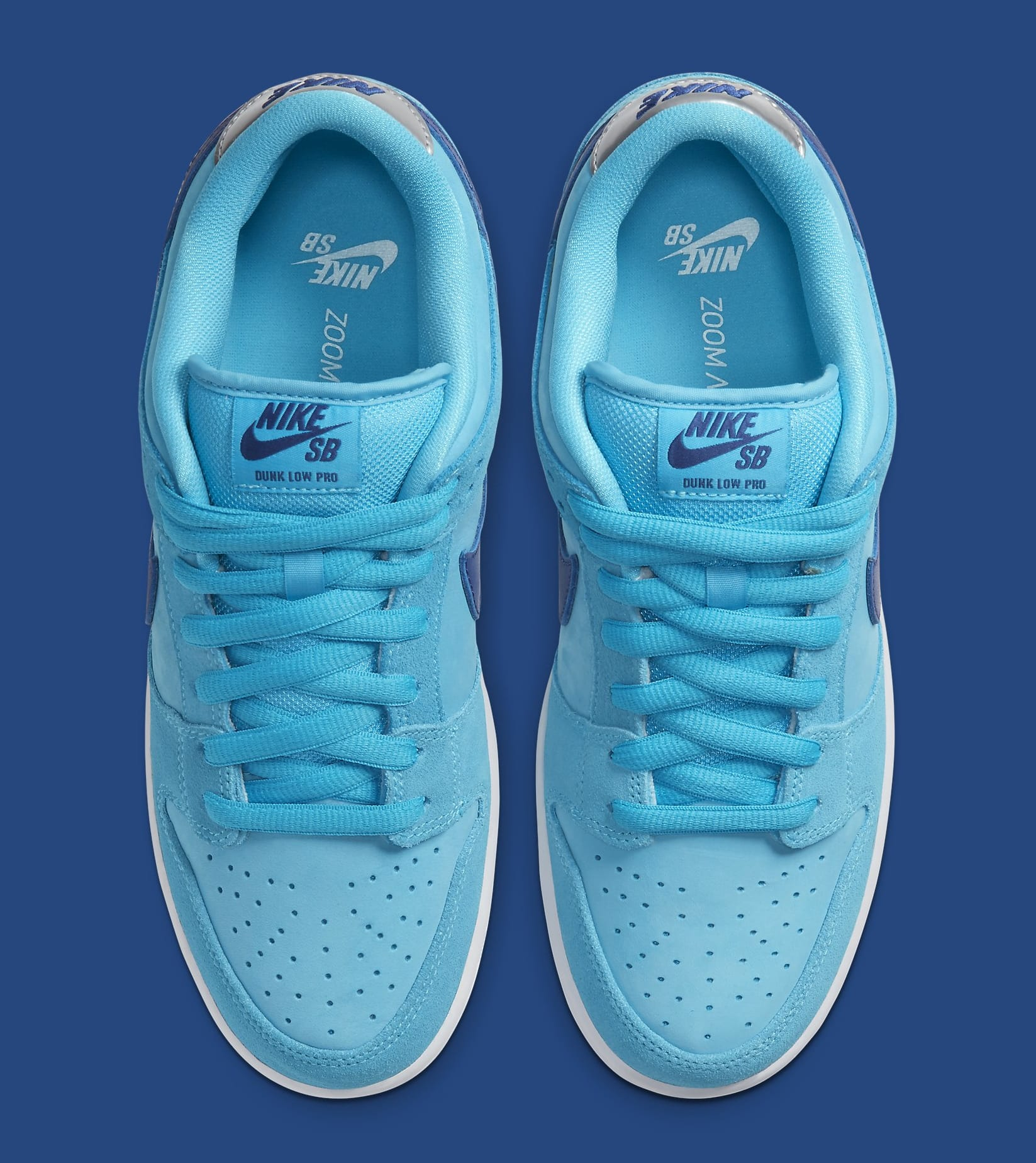 Nike SB Dunk Low 'Blue Fury' BQ6817-400 Top