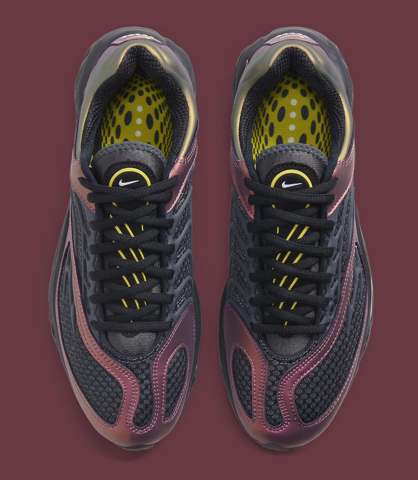 Nike Air Tuned Max Black/Celery/Dark Charcoal CV6984-001 Top