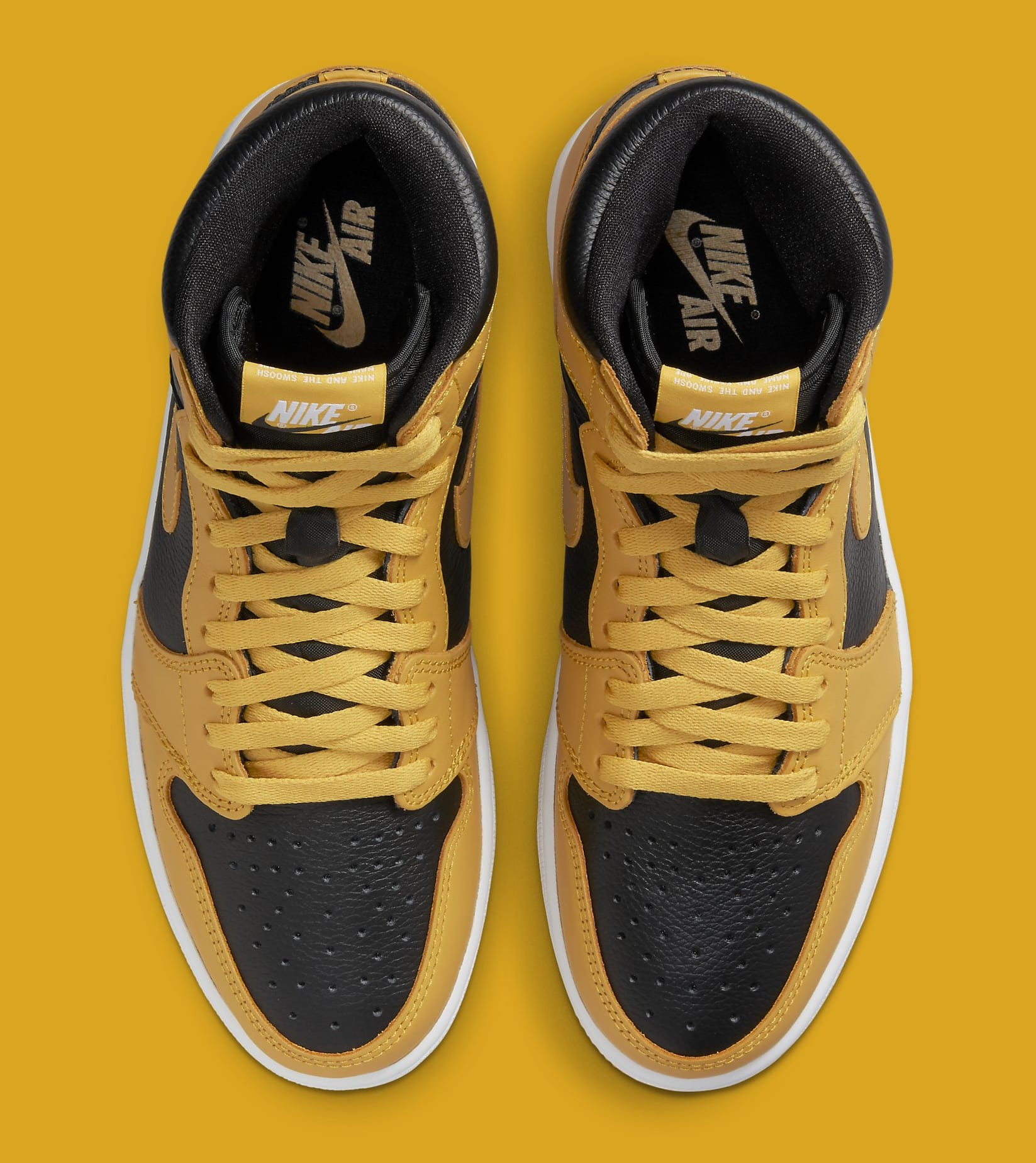 Air Jordan 1 Retro High OG 'Pollen' 555088-701 Top