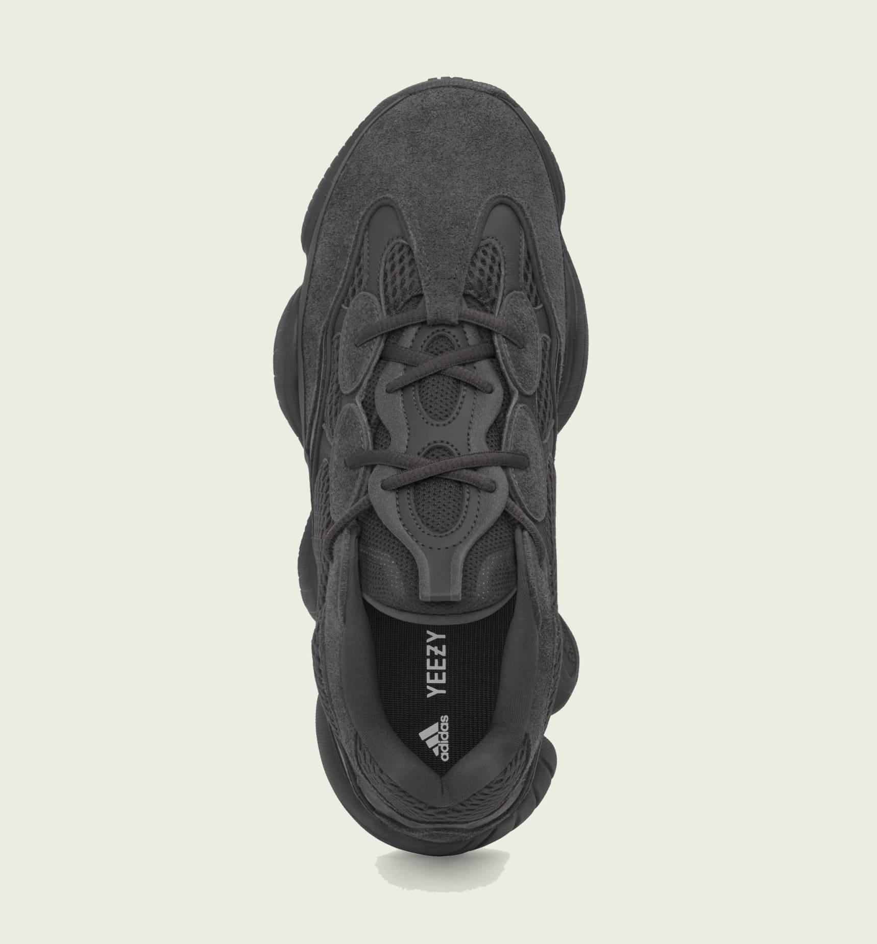 Adidas Yeezy 500 'Utility Black' F36640 Top