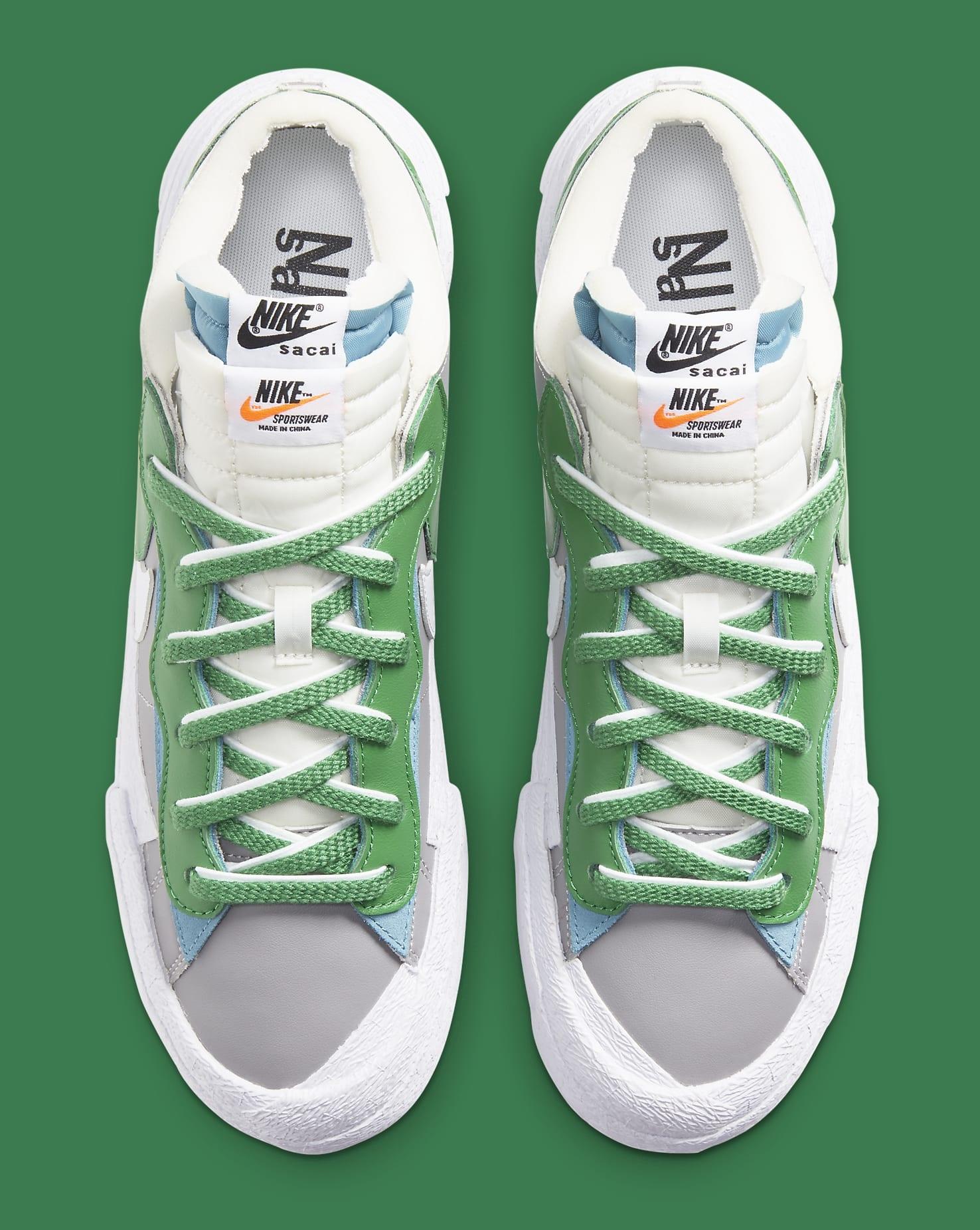 Sacai x Nike Blazer Low 'Classic Green' DD1877-001 Top
