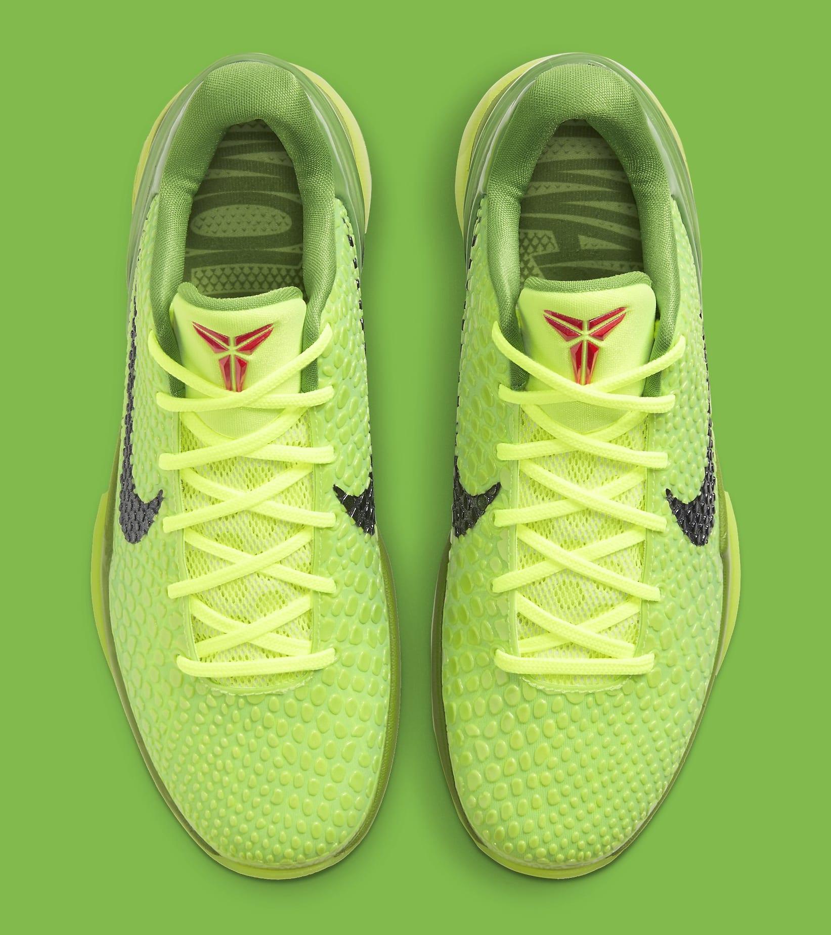 Nike Kobe 6 Protro 'Grinch' CW2190-300 Top