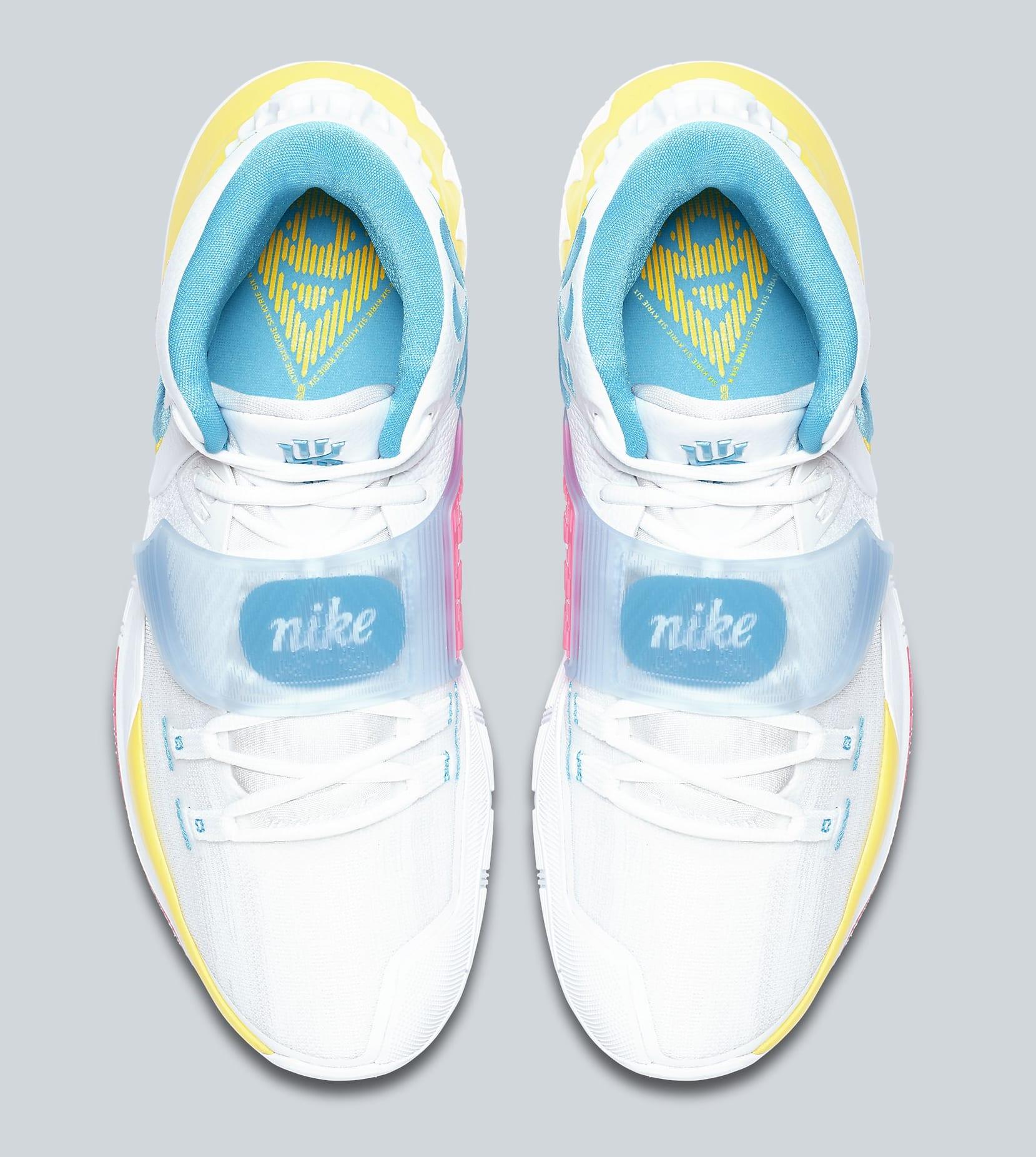 Nike Kyrie 6 'Neon Graffiti' BQ4630-101 Top