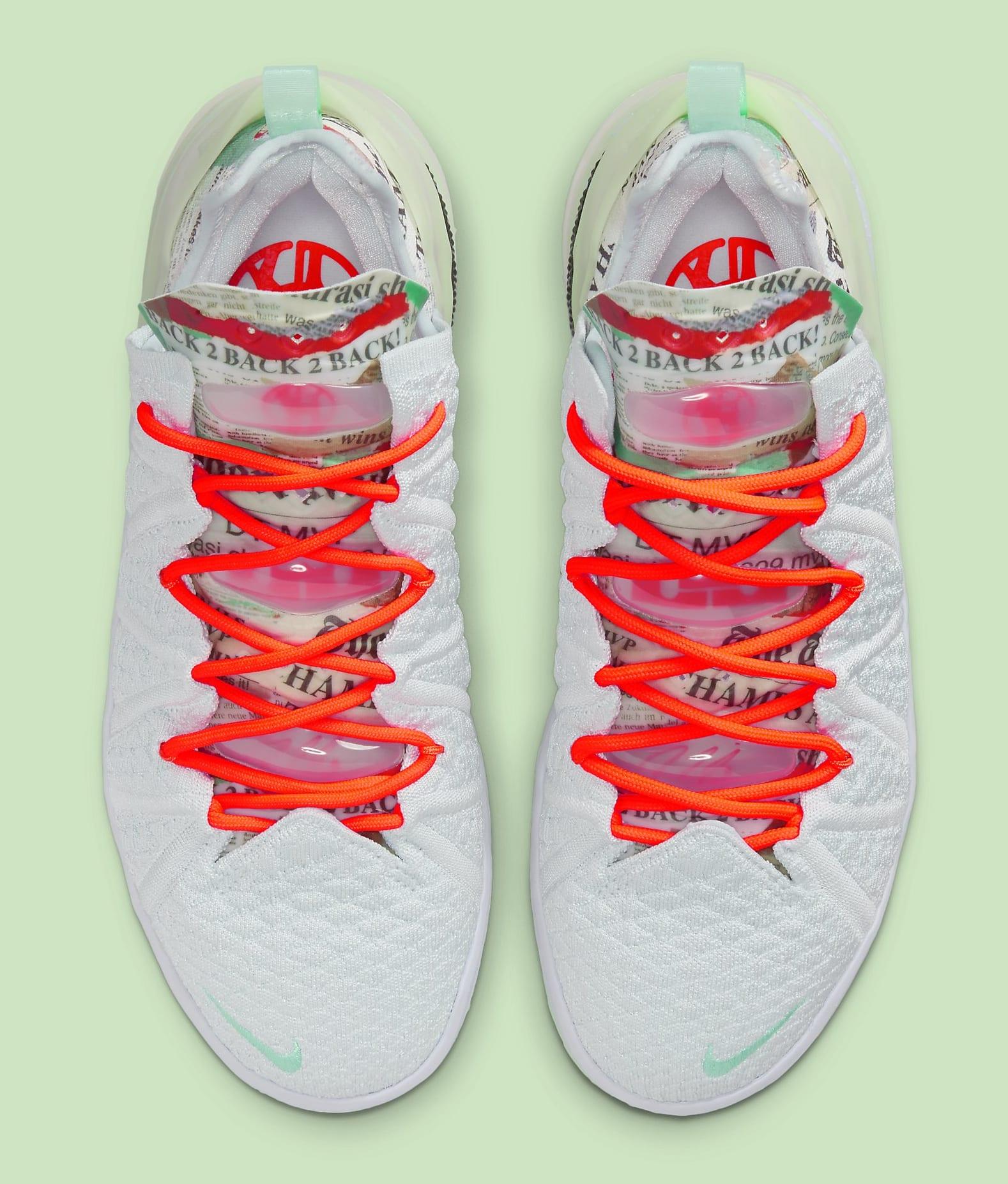 Diana Taurasi x Nike LeBron 18 PE CQ9283-401 Top
