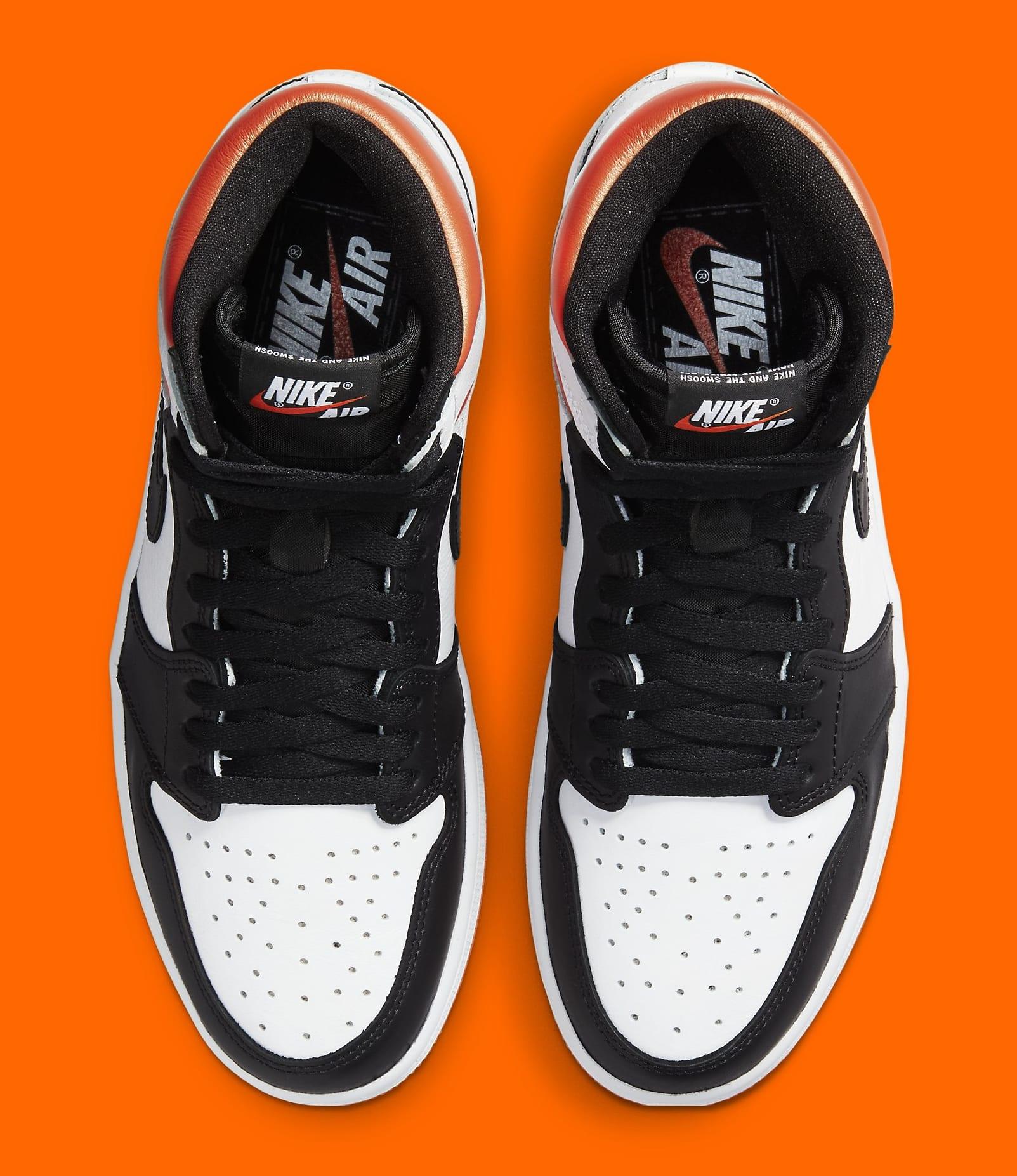 Air Jordan 1 Retro High OG 'Electro Orange' 555088-180 Top
