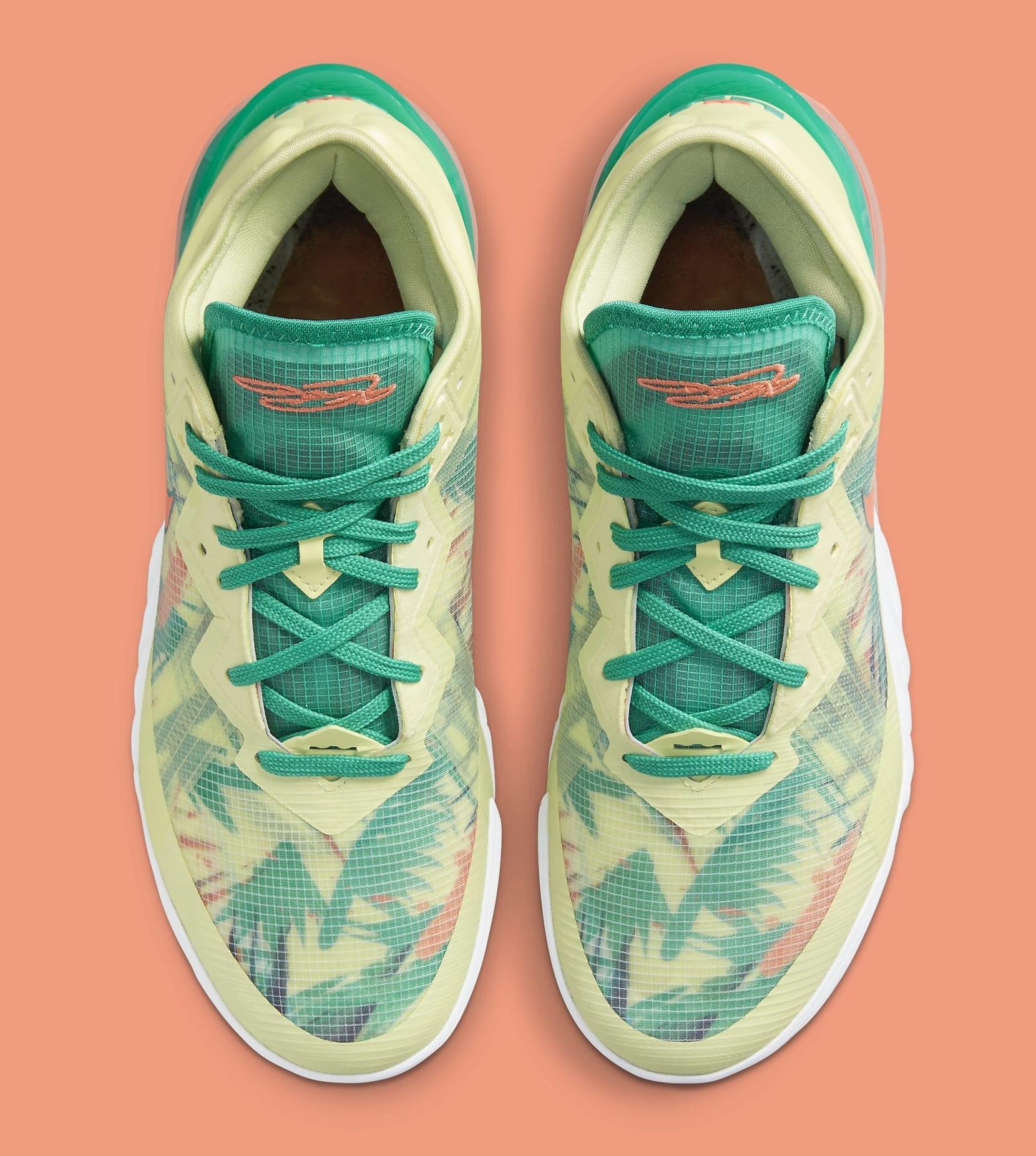 Nike LeBron 18 Low 'LeBronold Palmer' CV7562-300 Top