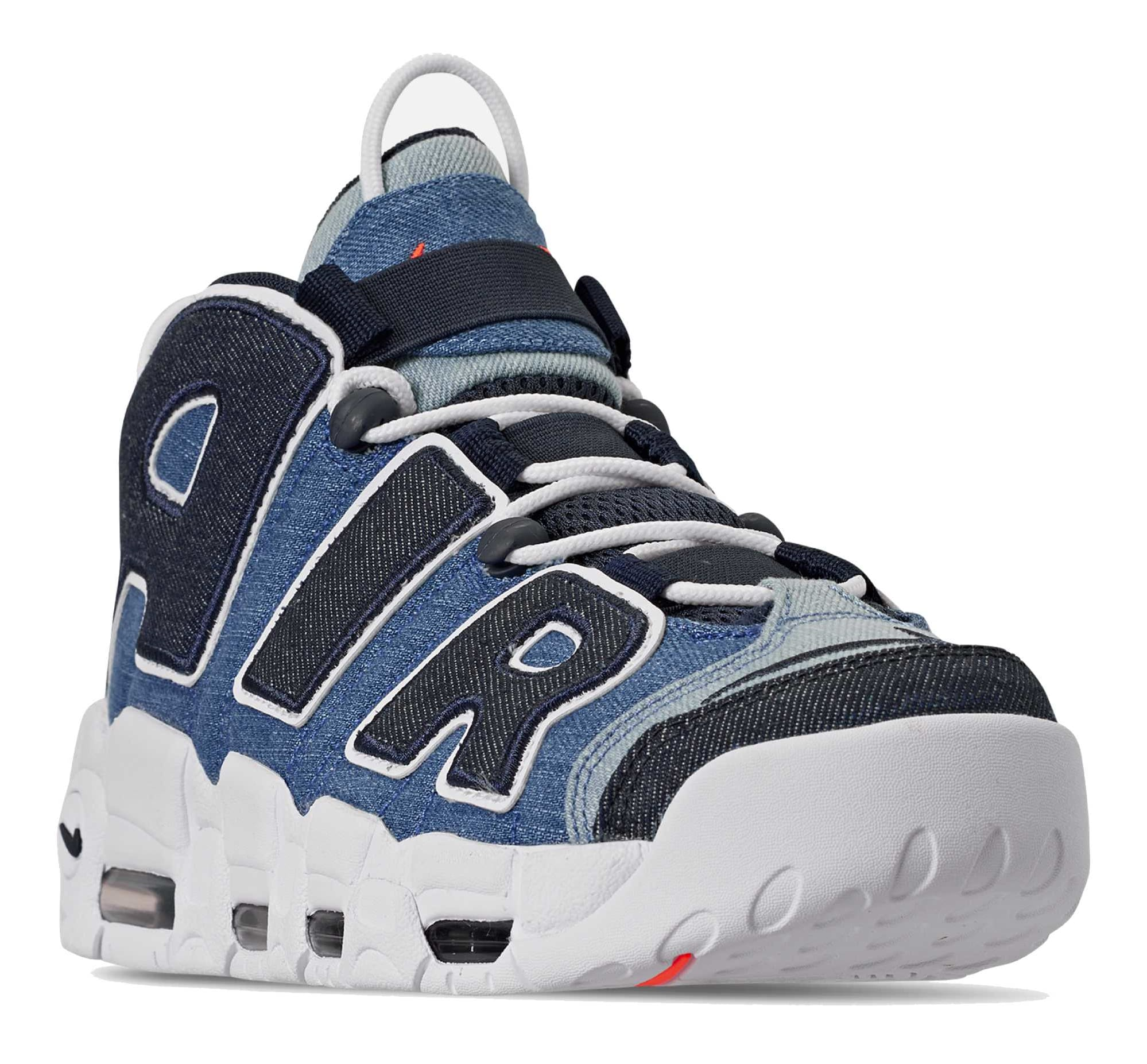 Nike Air More Uptempo Denim Data de Lançamento CJ6125-100