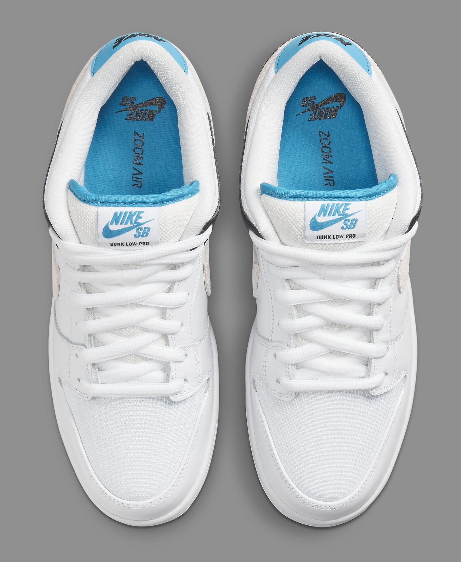 Nike SB Dunk Low 'Laser Blue' BQ6817-101 Top