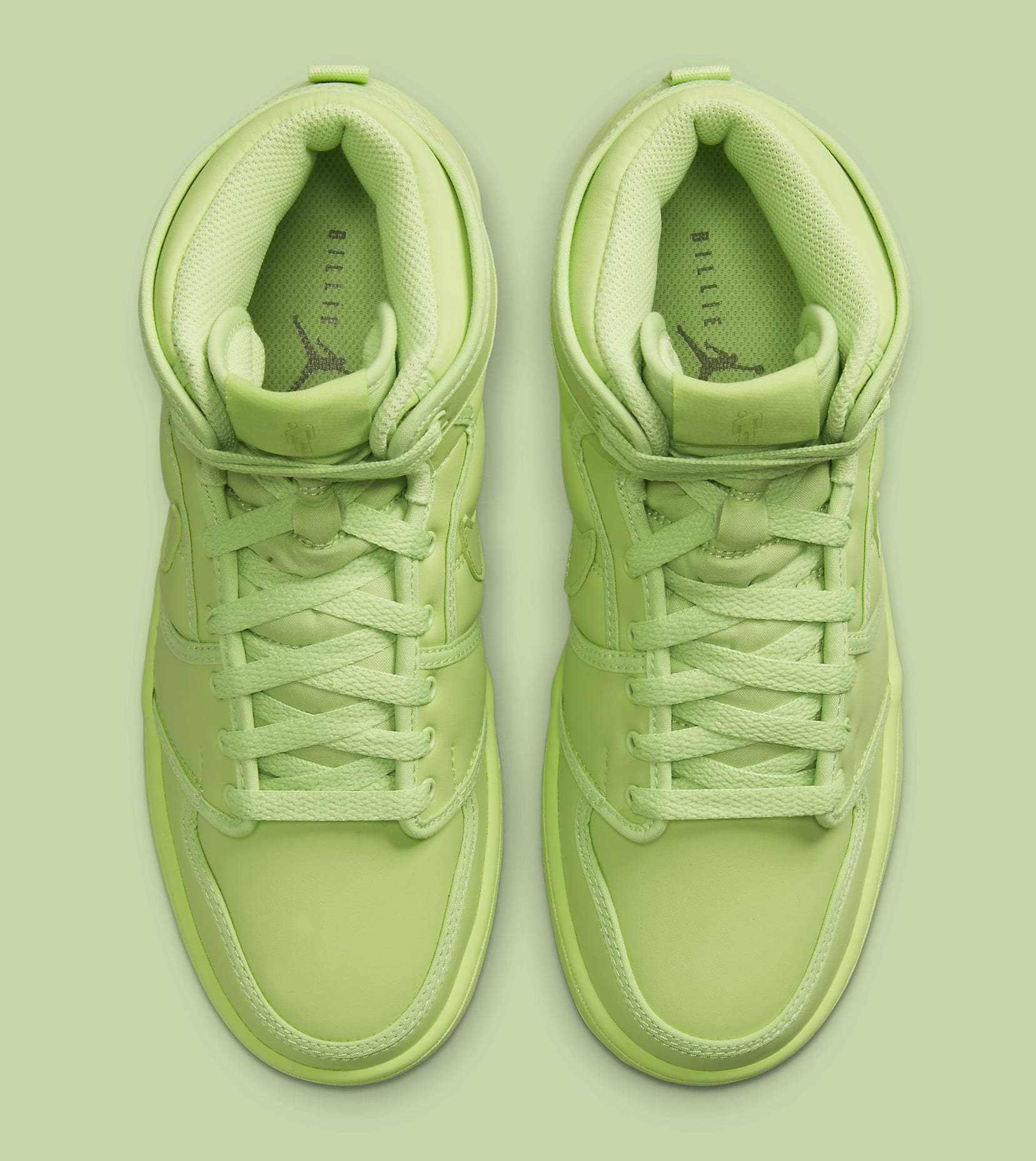Billie Eilish x Air Jordan 1 KO 'Ghost Green' DN2857-330 (Top)