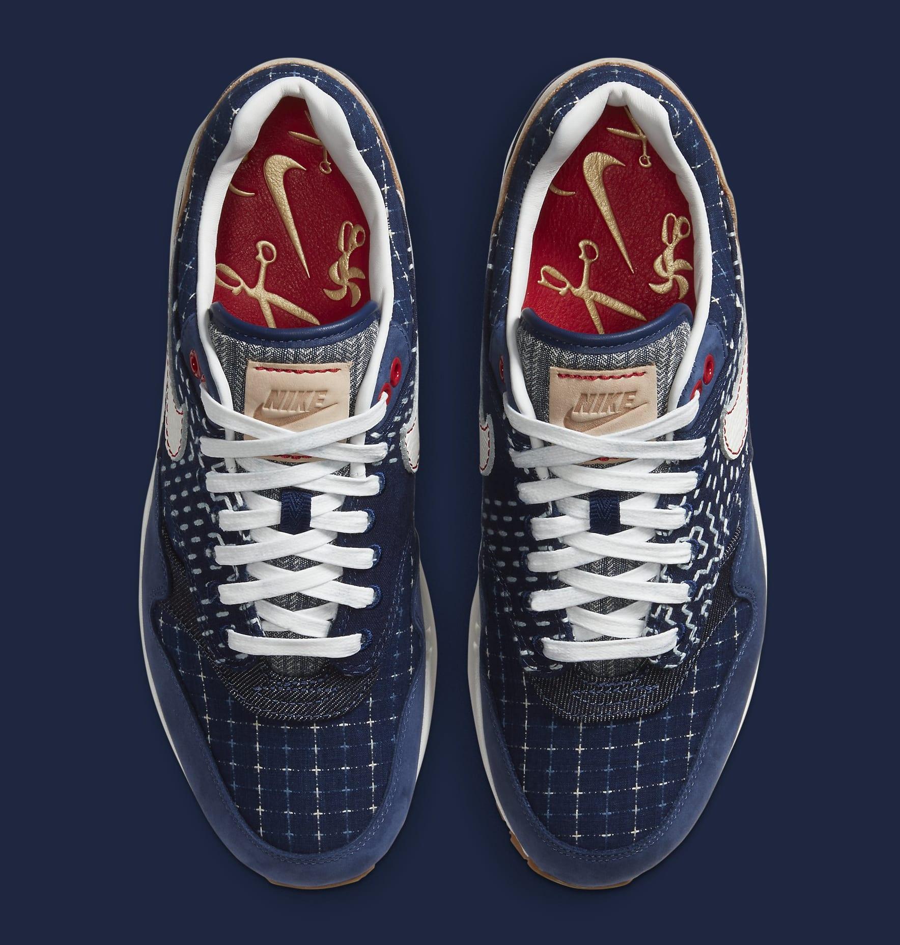 Denham x Nike Air Max 1 CW7603-400 Top