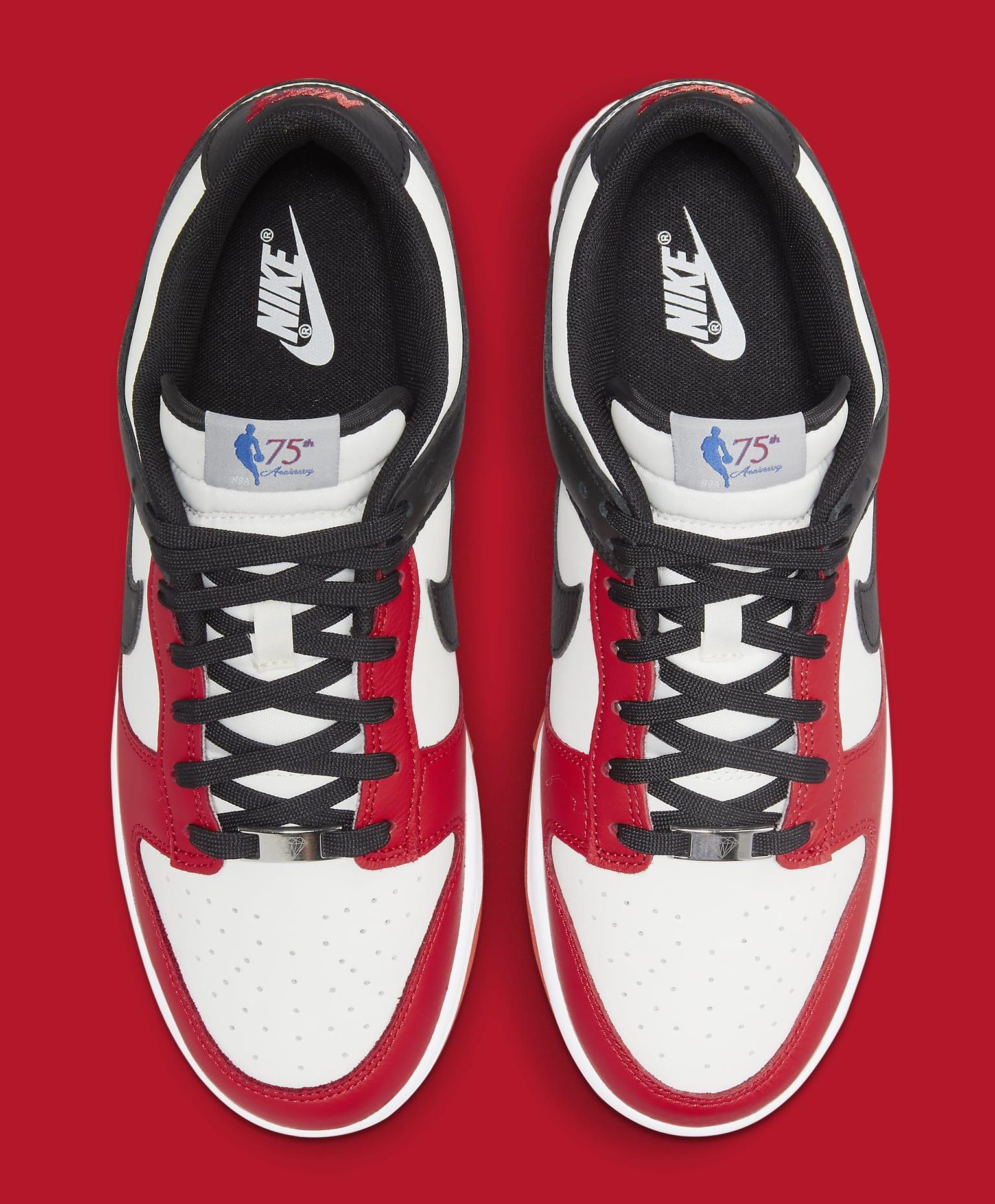 Nike Dunk Low 'NBA 75th Anniversary' DD3363-100 Top