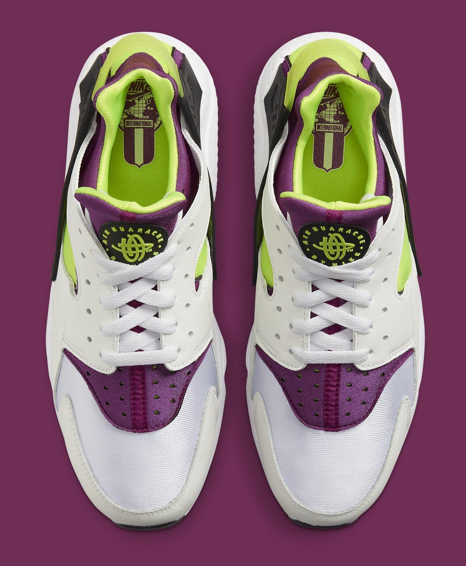 Nike Air Huarache Neon Yellow/Magenta DD1068-104 Top