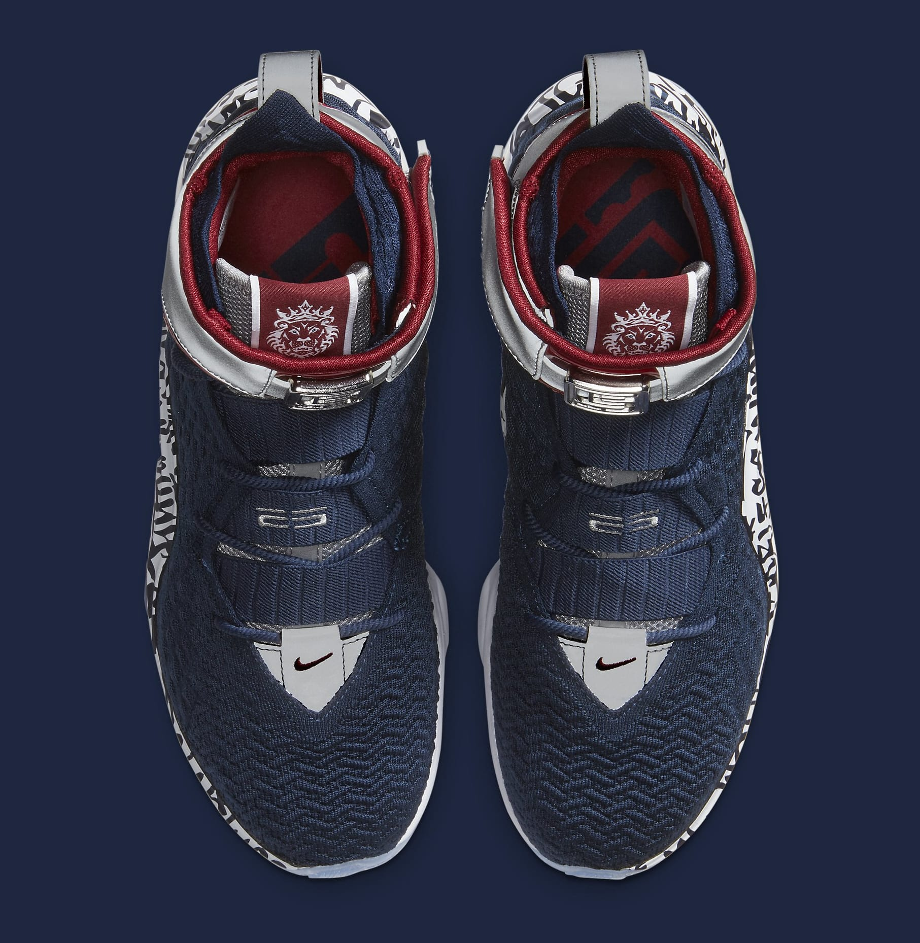 Nike LeBron 17 'All-Star Graffiti' CT6047-400 Top