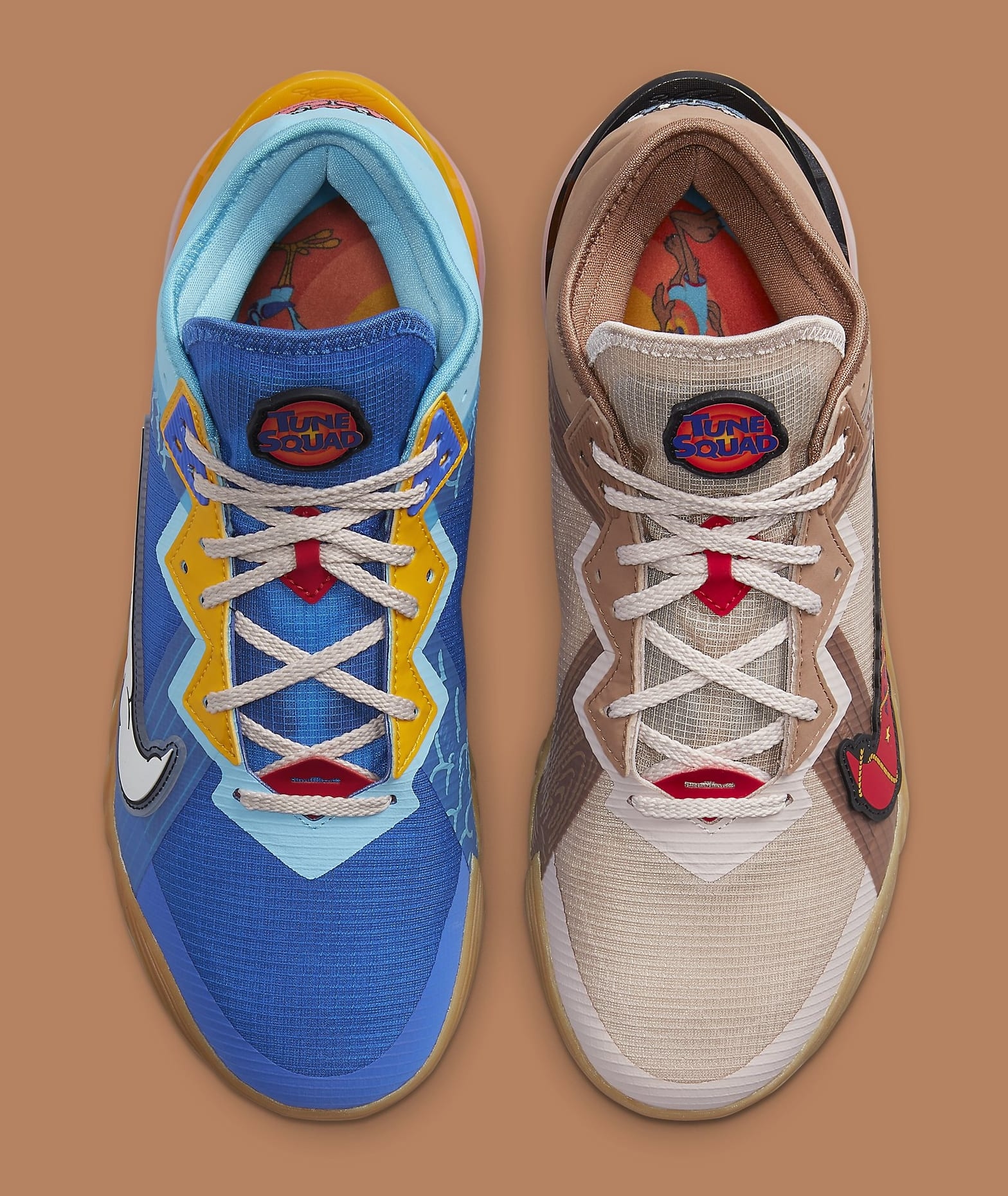 Xbox x Nike LeBron 18 Low 'Wile E. x Roadrunner' DO7172-900 Top