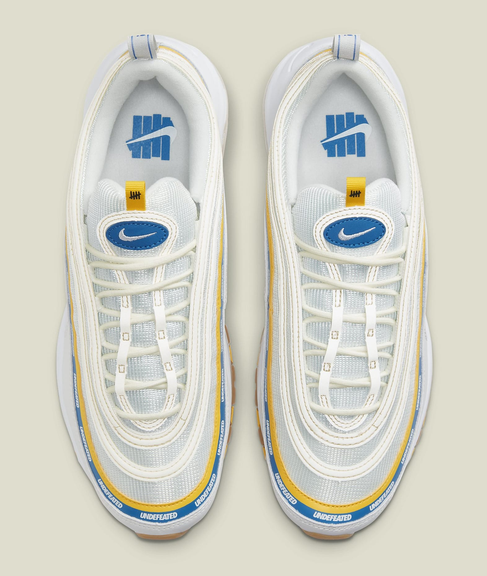 Undefeated x Nike Air Max 97 'Sail' DC4830-100 Top