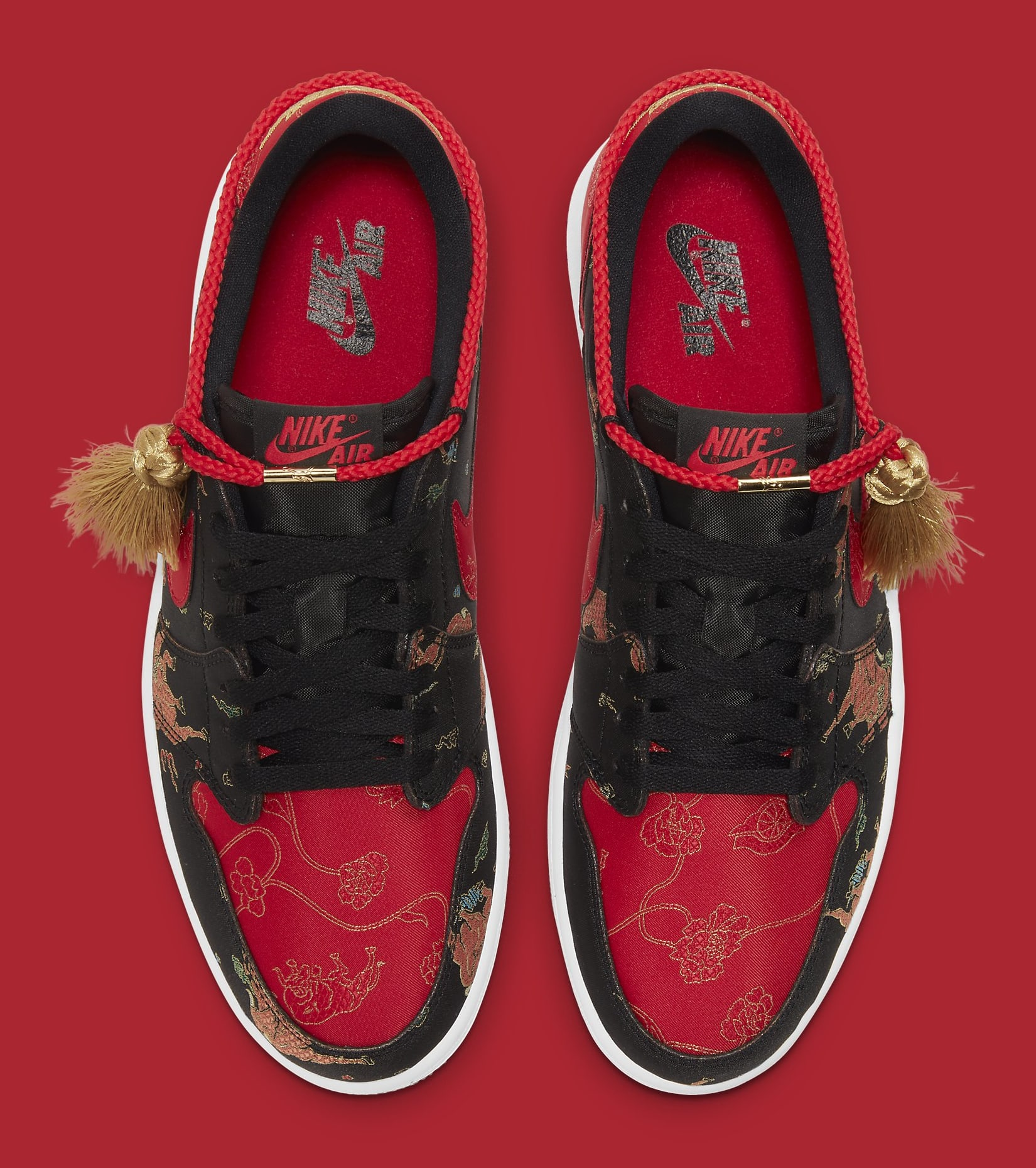 Air Jordan 1 Retro Low OG 'Chinese New Year' DD2233-001 Top