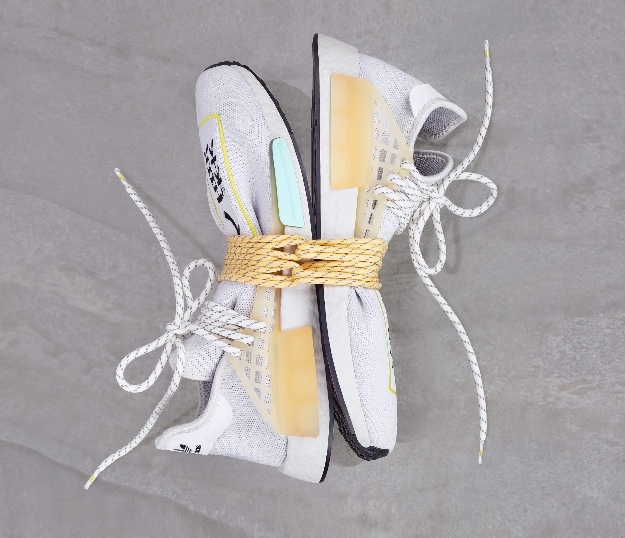 Pharrell Adidas NMD Hu 'White'