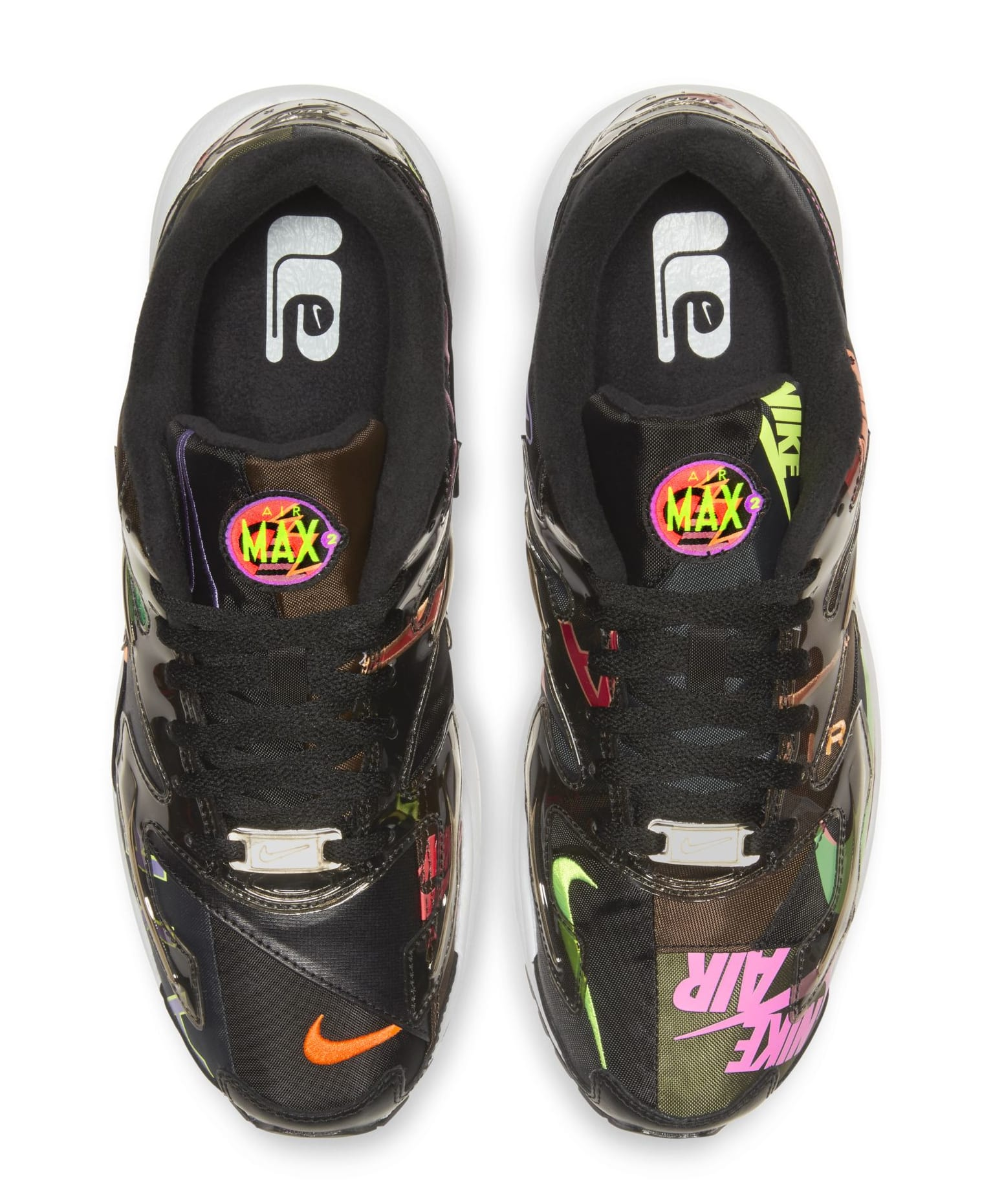 Atmos x Nike Air Max2 Light Black Top