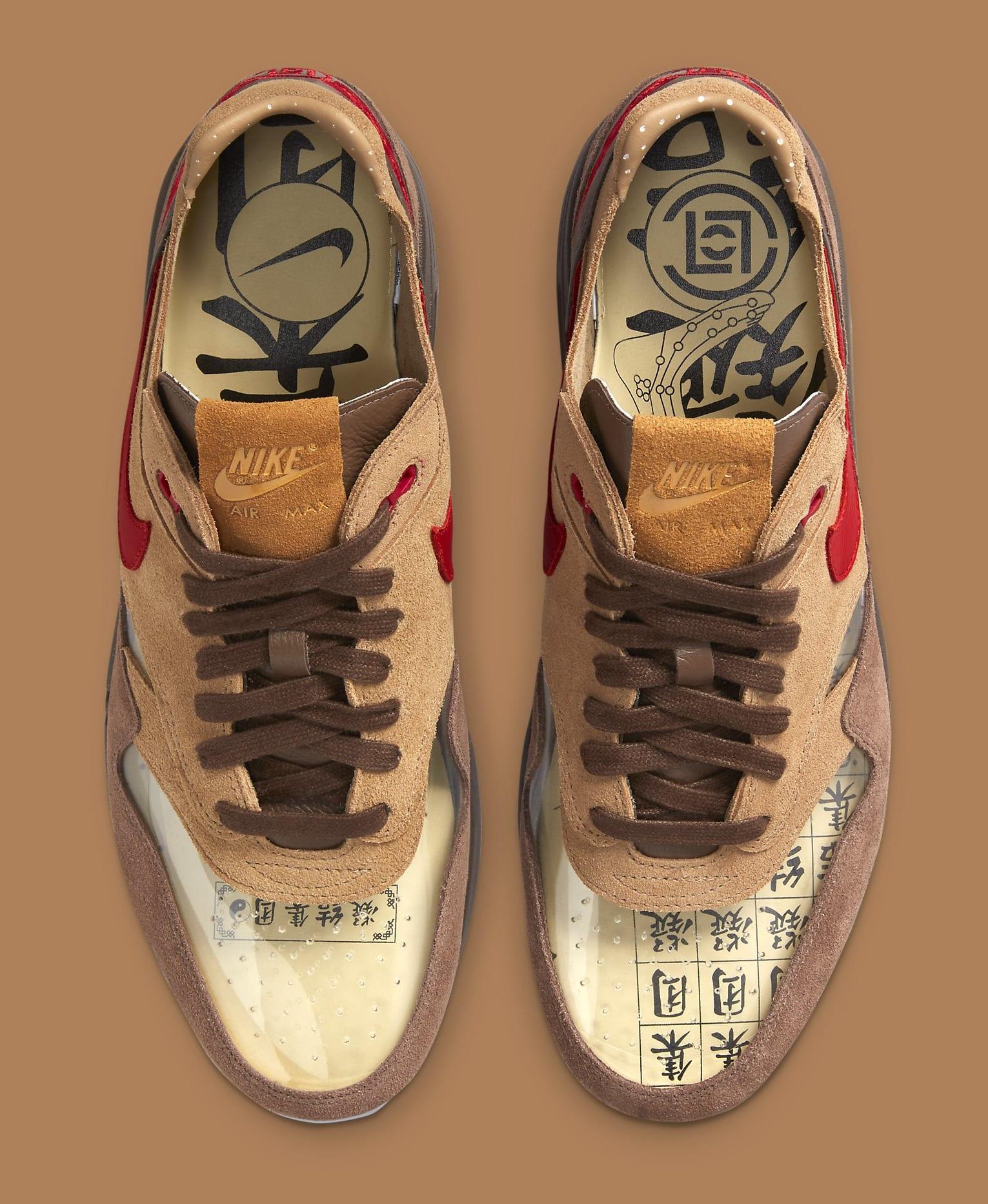 Clot x Nike Air Max 1 'K.O.D. - CHA' DD1870-200 Top